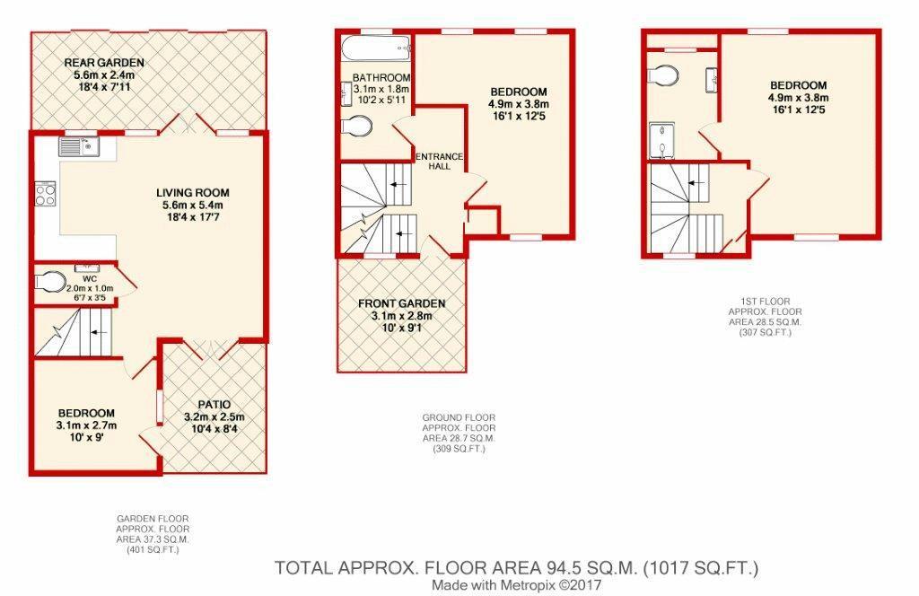 1-5 Floor Plan