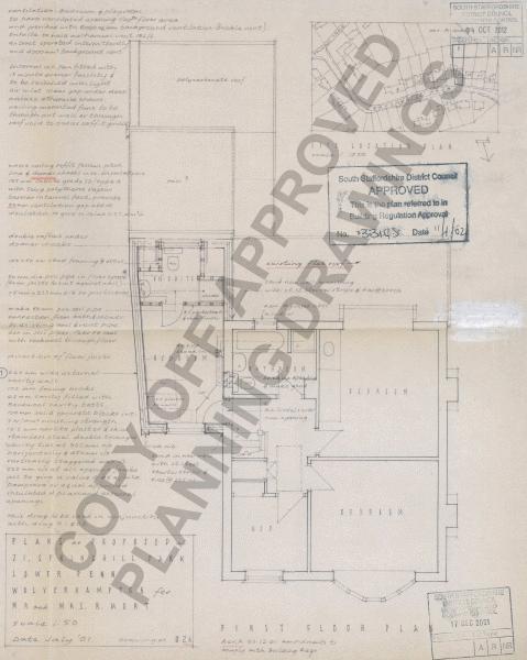 Extension Plans - FF