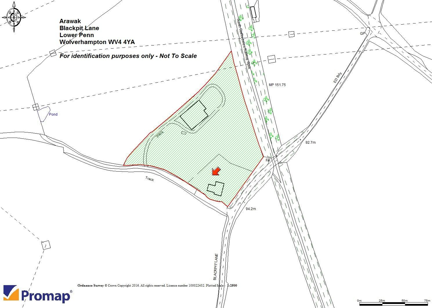 Arawak Blackpit Lane - Site Plan