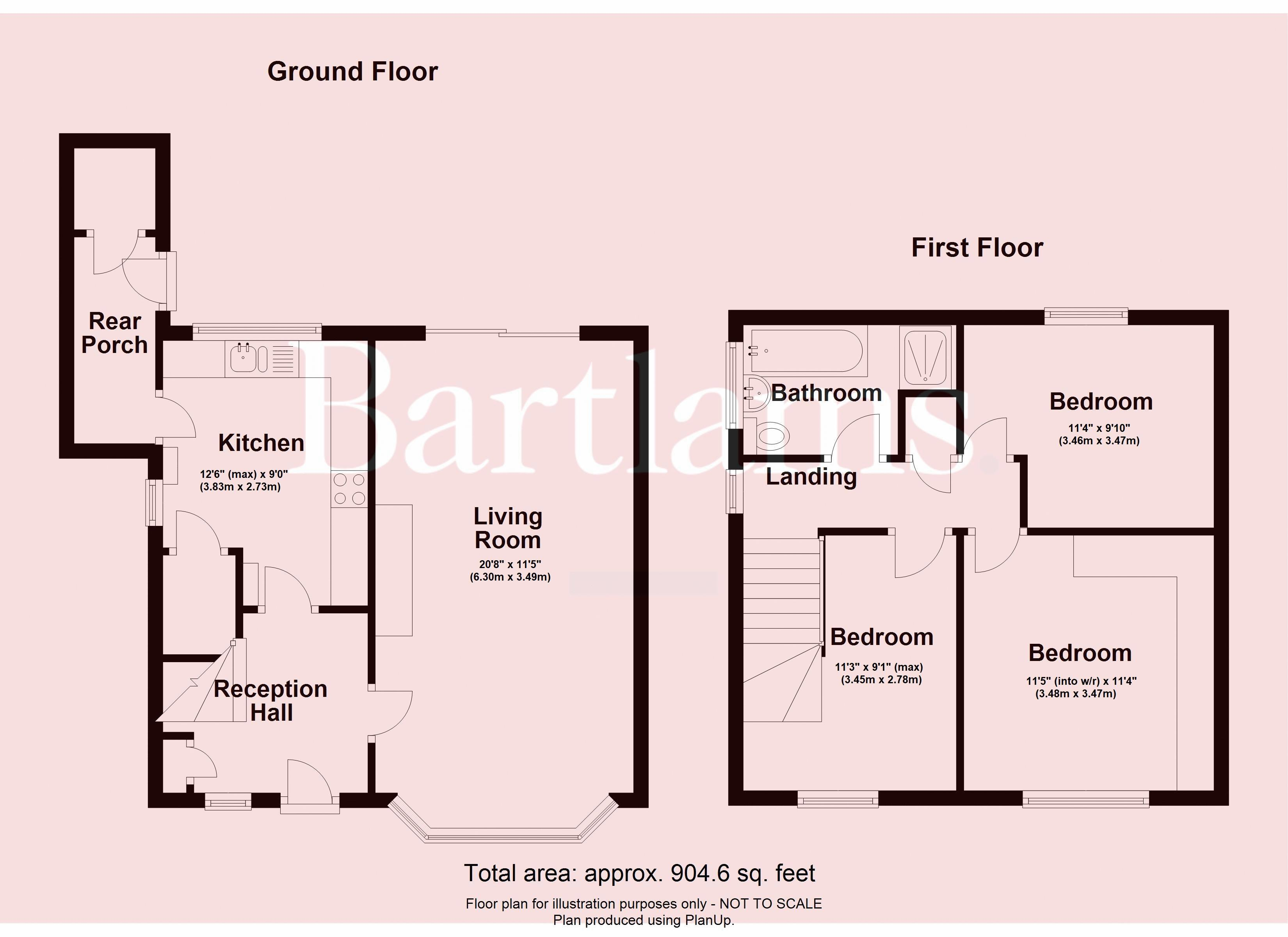 Floor Plan (with dimensions)