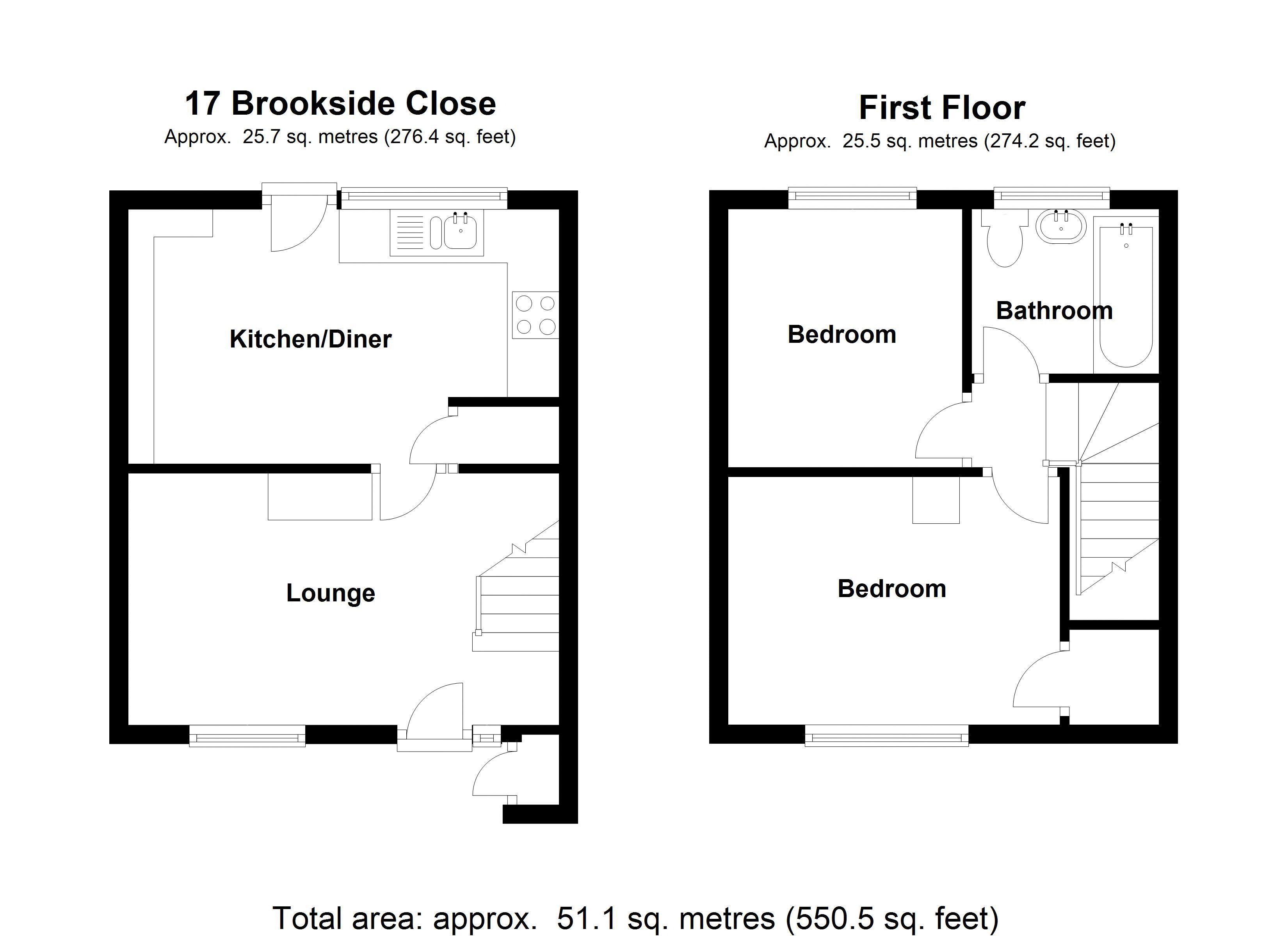 17 Brookside Close - Floor Plan