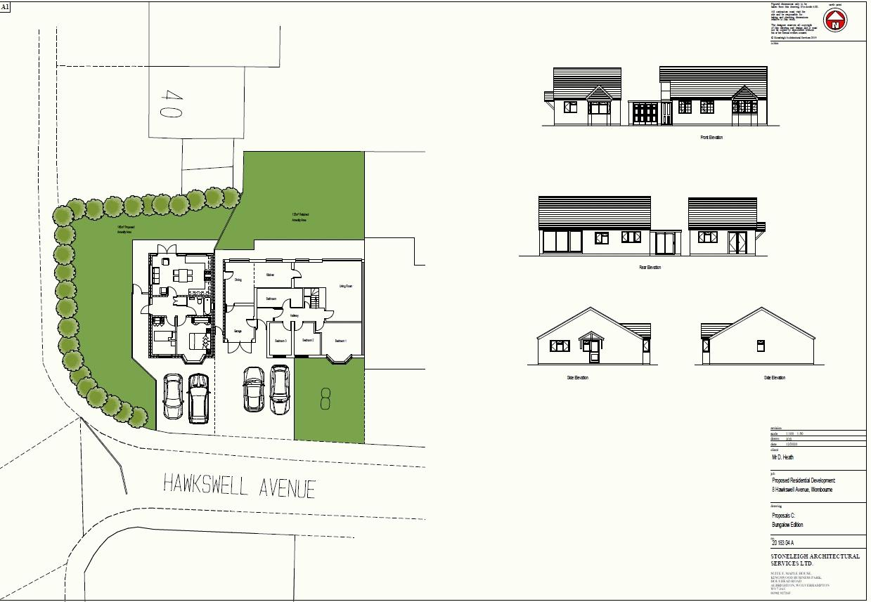 Proposed New Bungalow