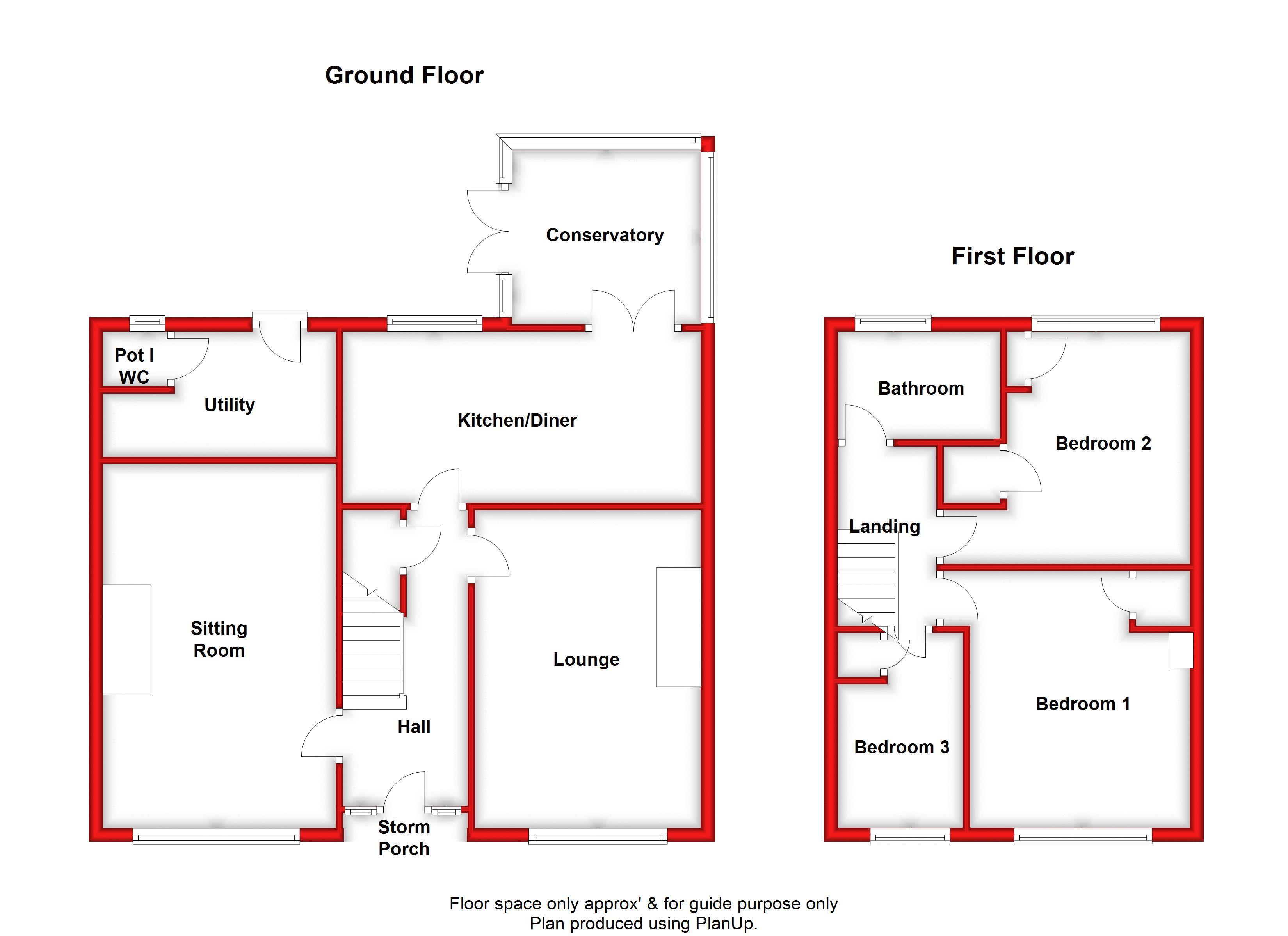 Ground & 1st Floor