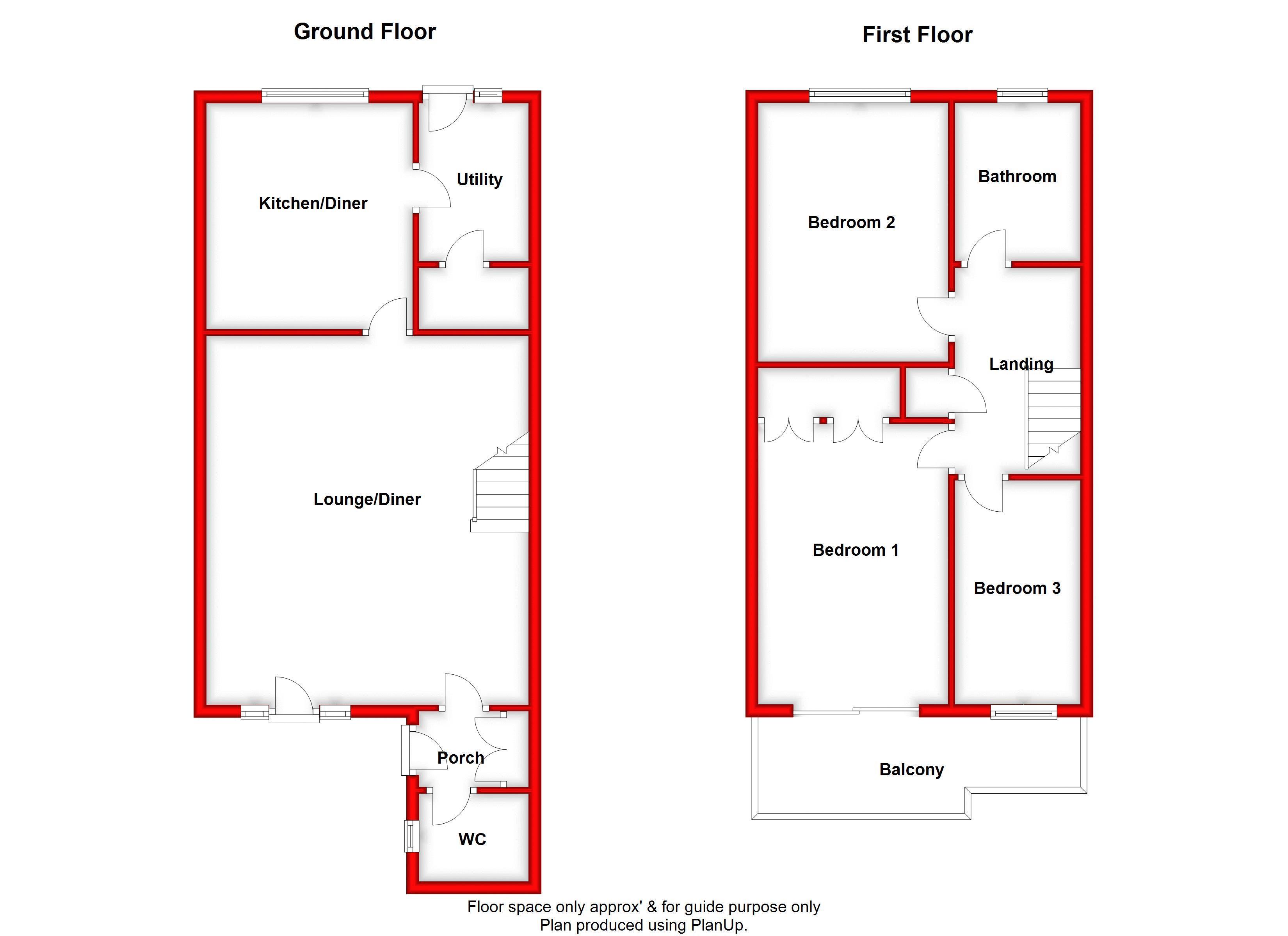 GROUND FLOOR & 1ST FLOOR