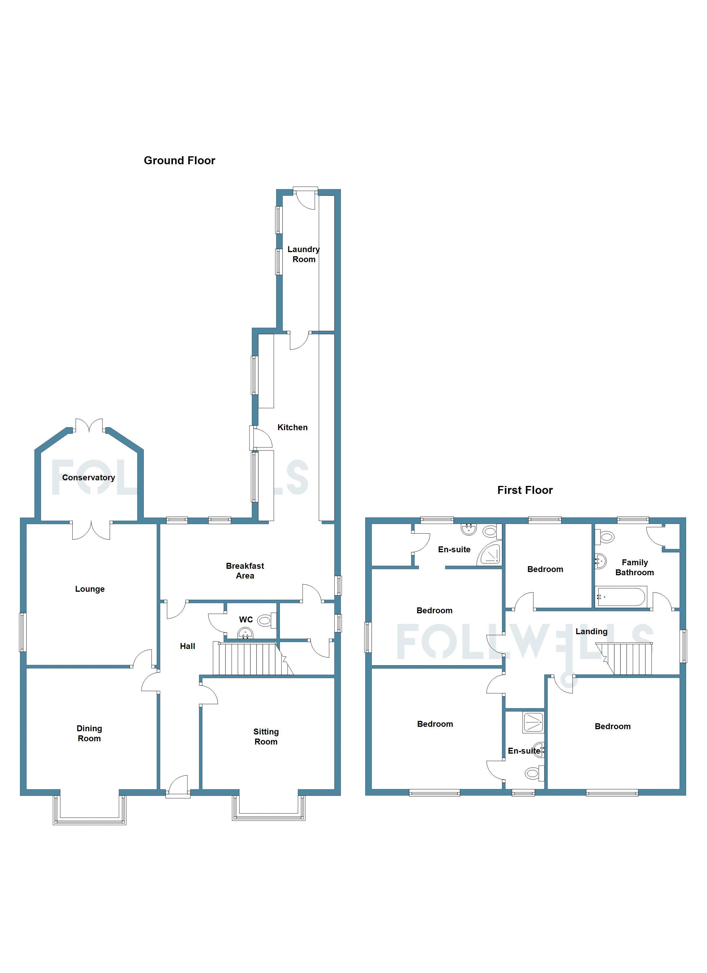 Floorplans Main House