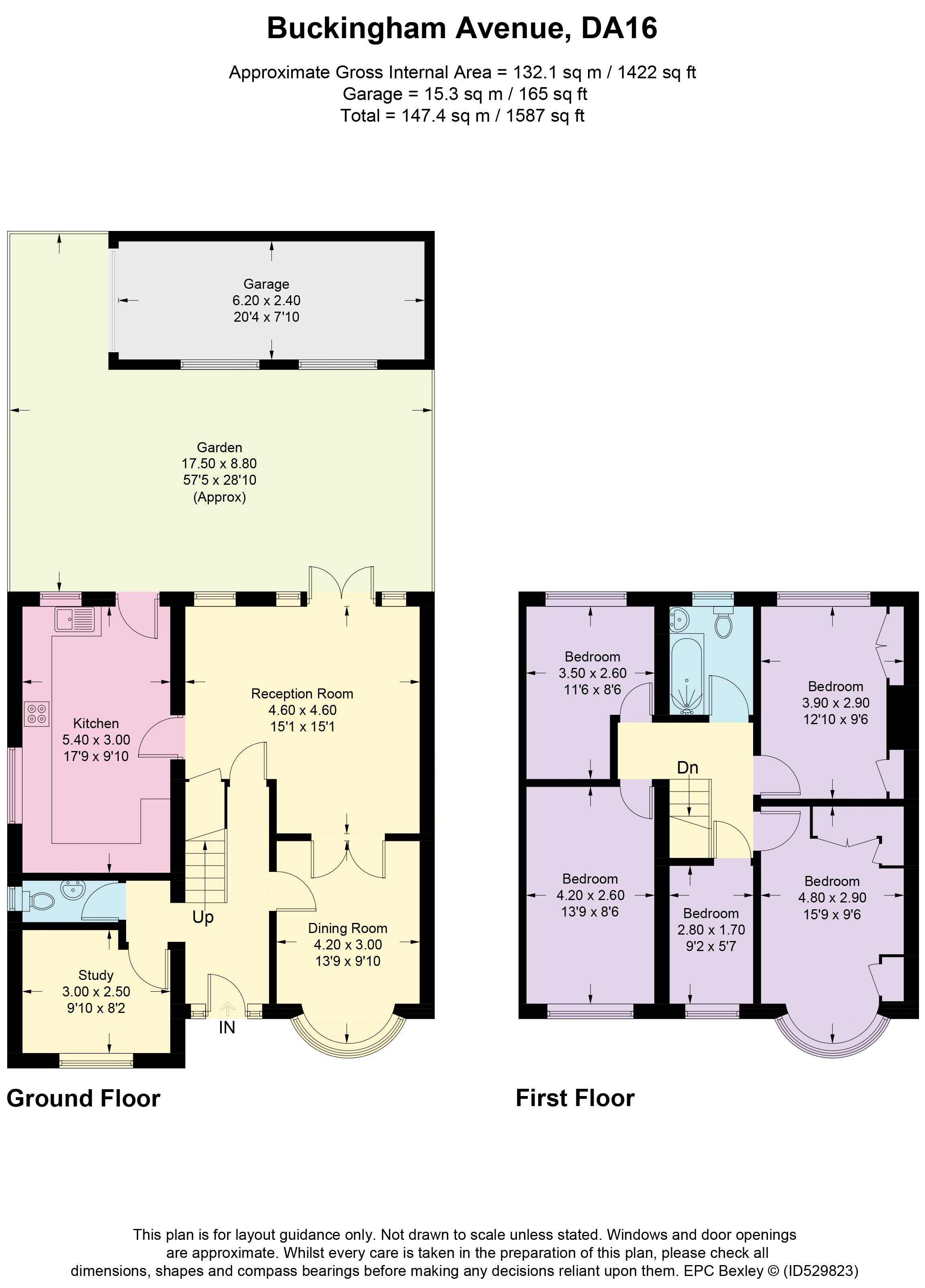 Buckingham Avenue Floorplan