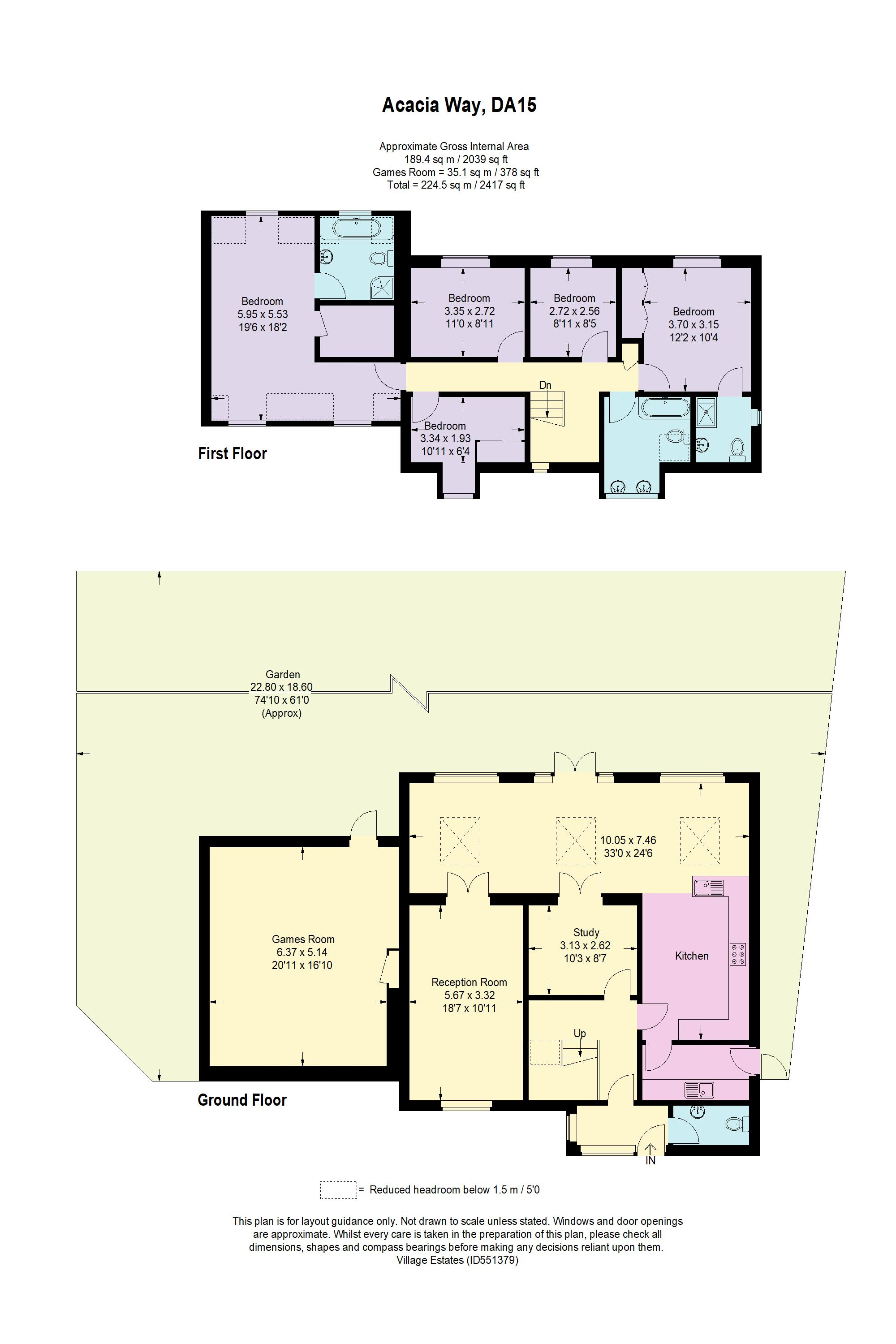 Acacia Way Floorplan