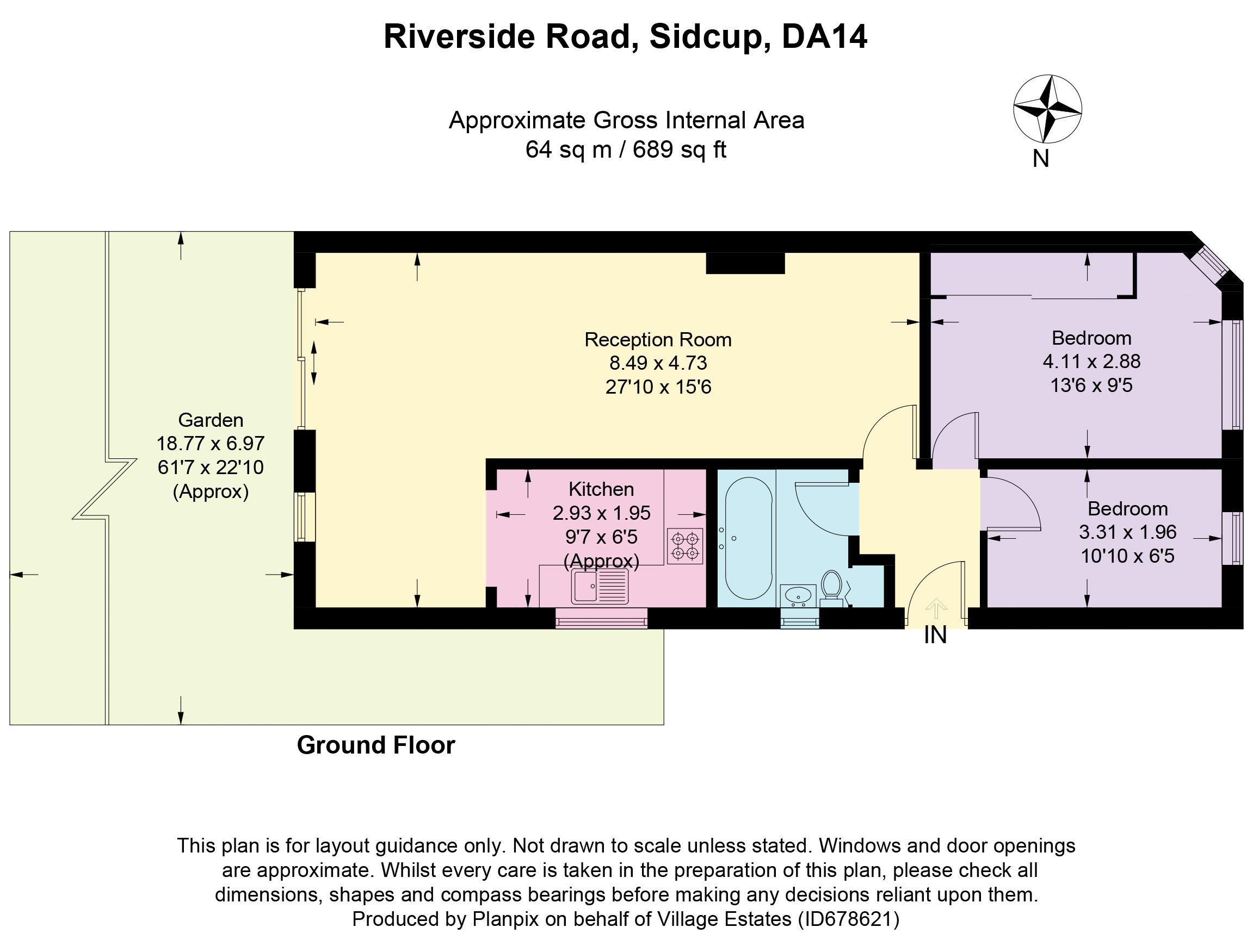 Riverside Road Floorplan