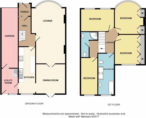 Floorplan for Selsey Crescent