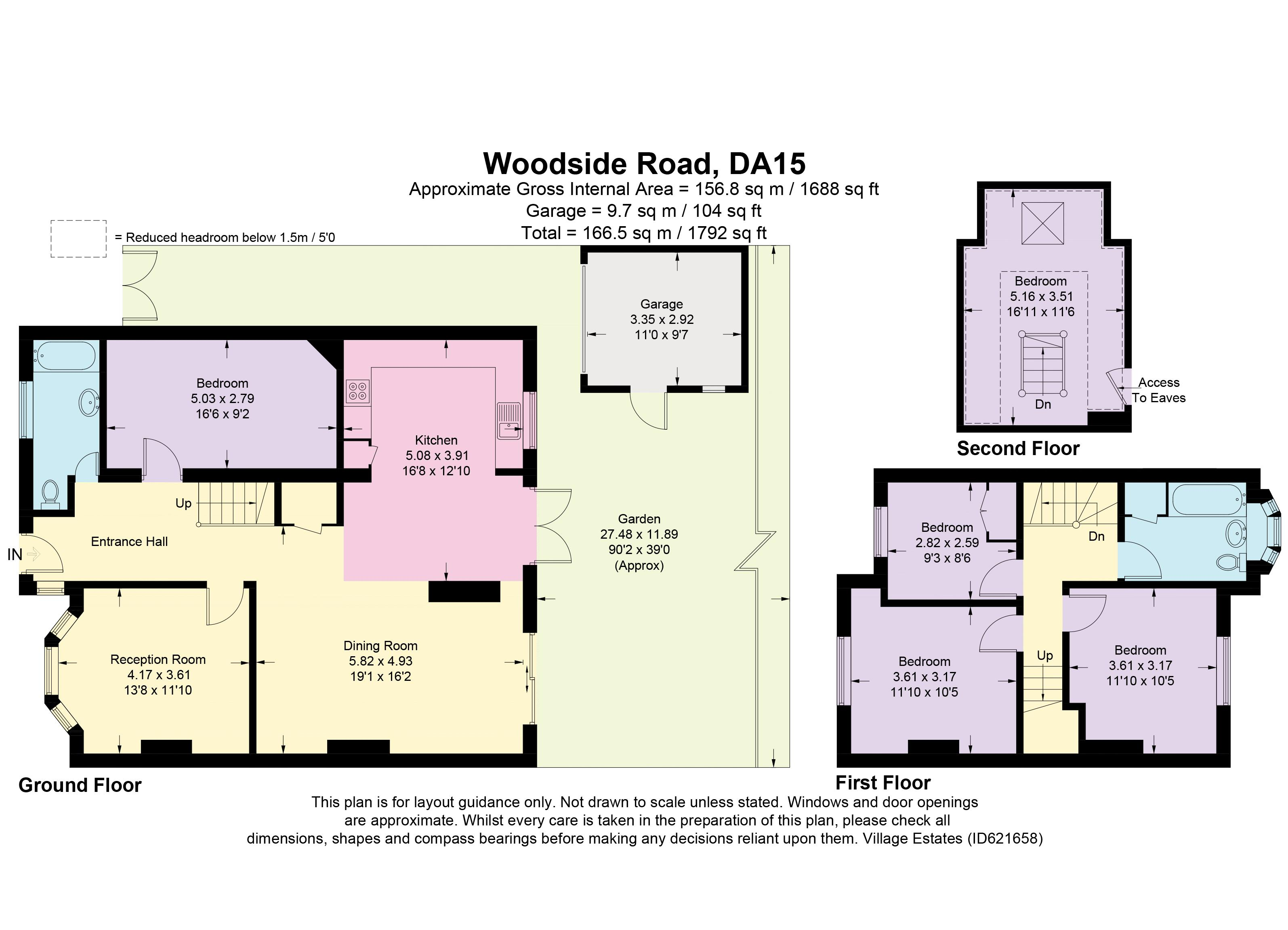 Woodside Road Floorplan