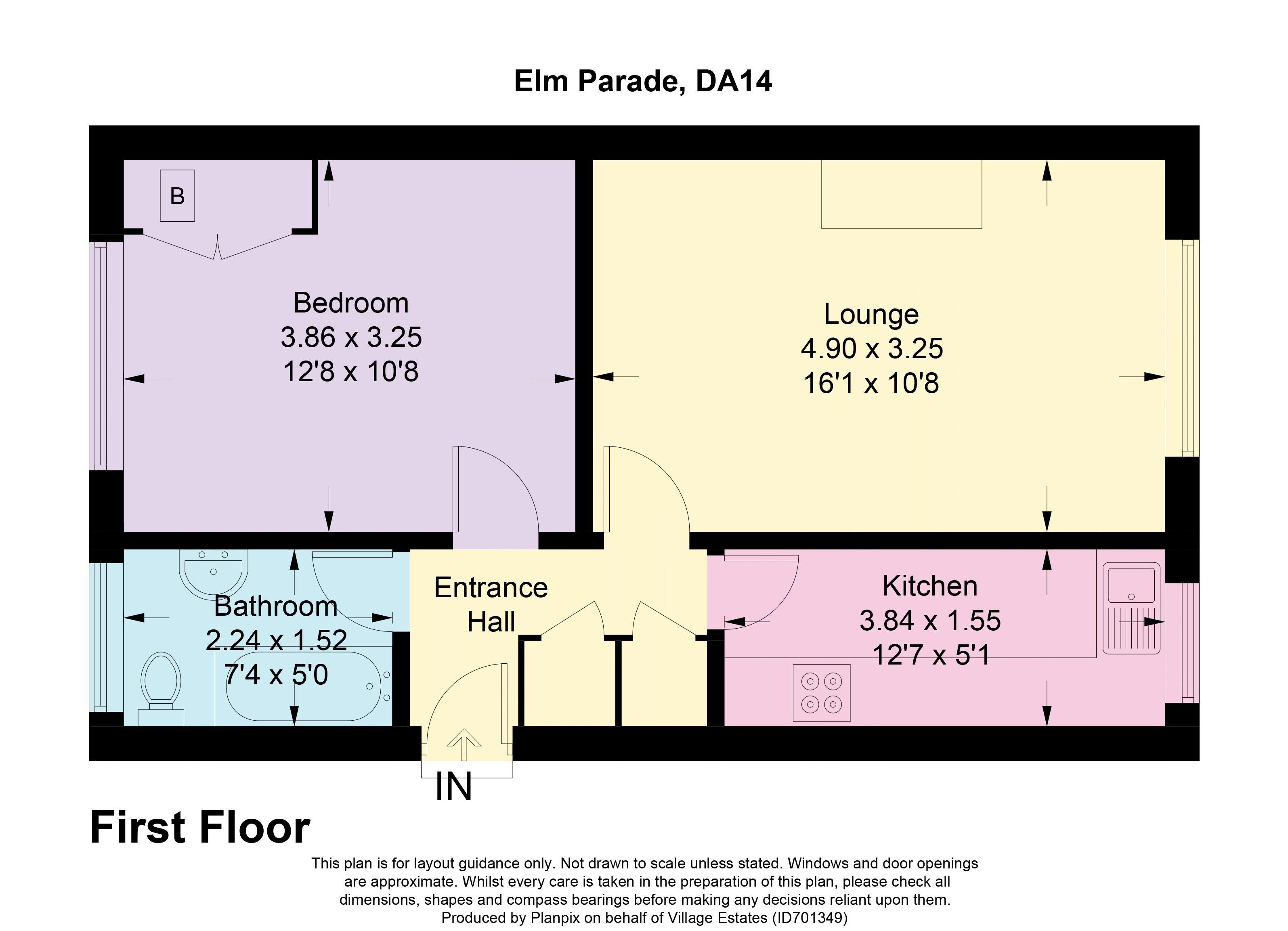 Elm Parade Floorplan