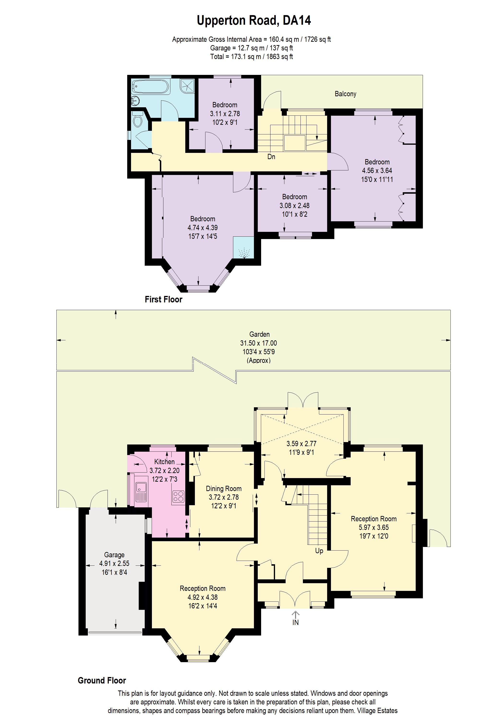 Upperton Road Floorplan