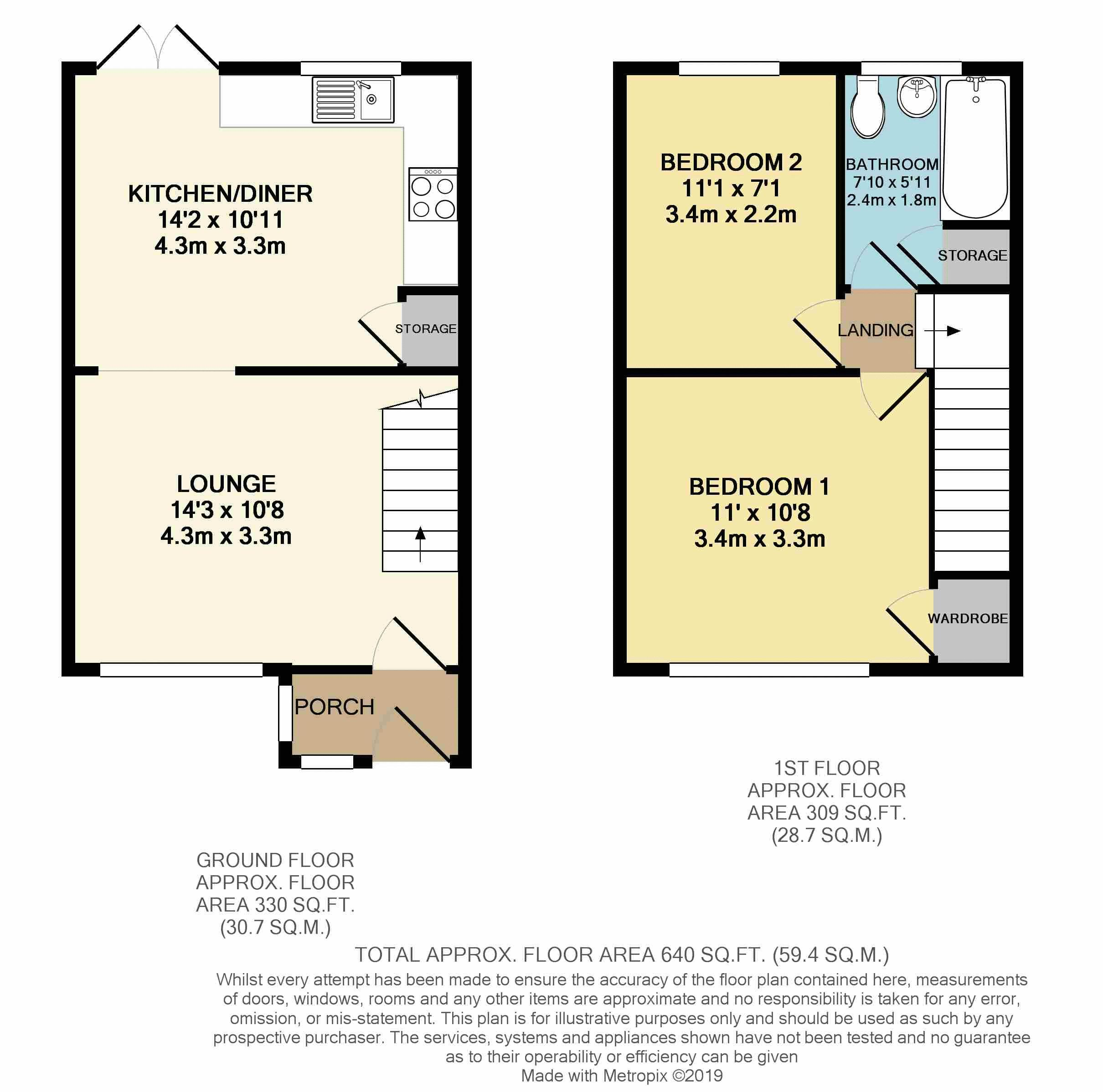 Woodchurch Close Floorplan
