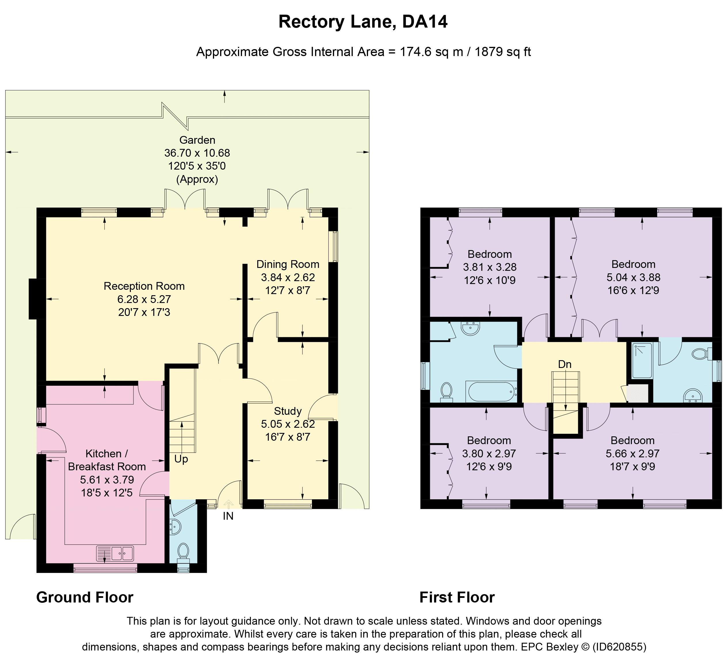 Turrets, Rectory Lane Floorplan