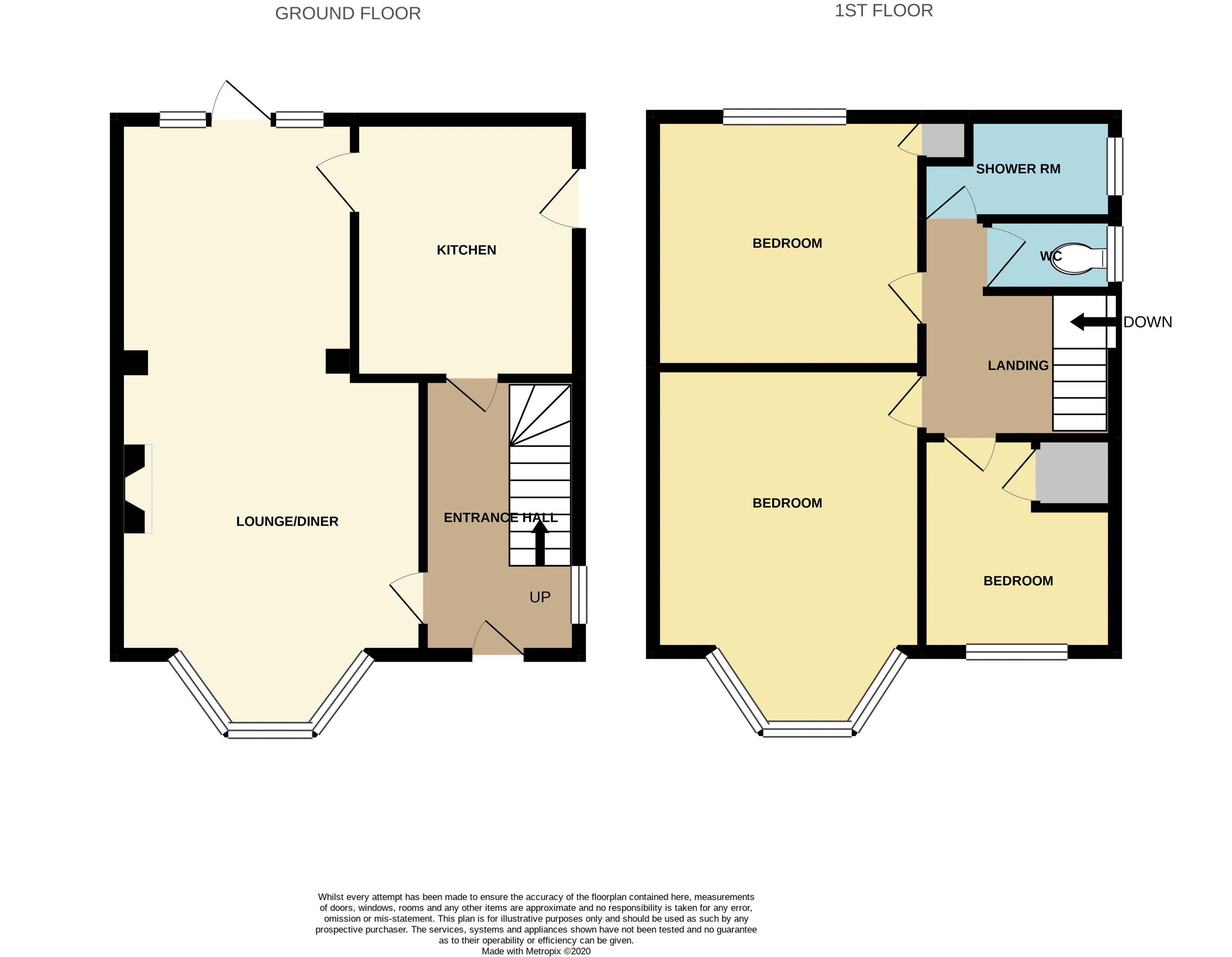 Longmead Drive Floorplan