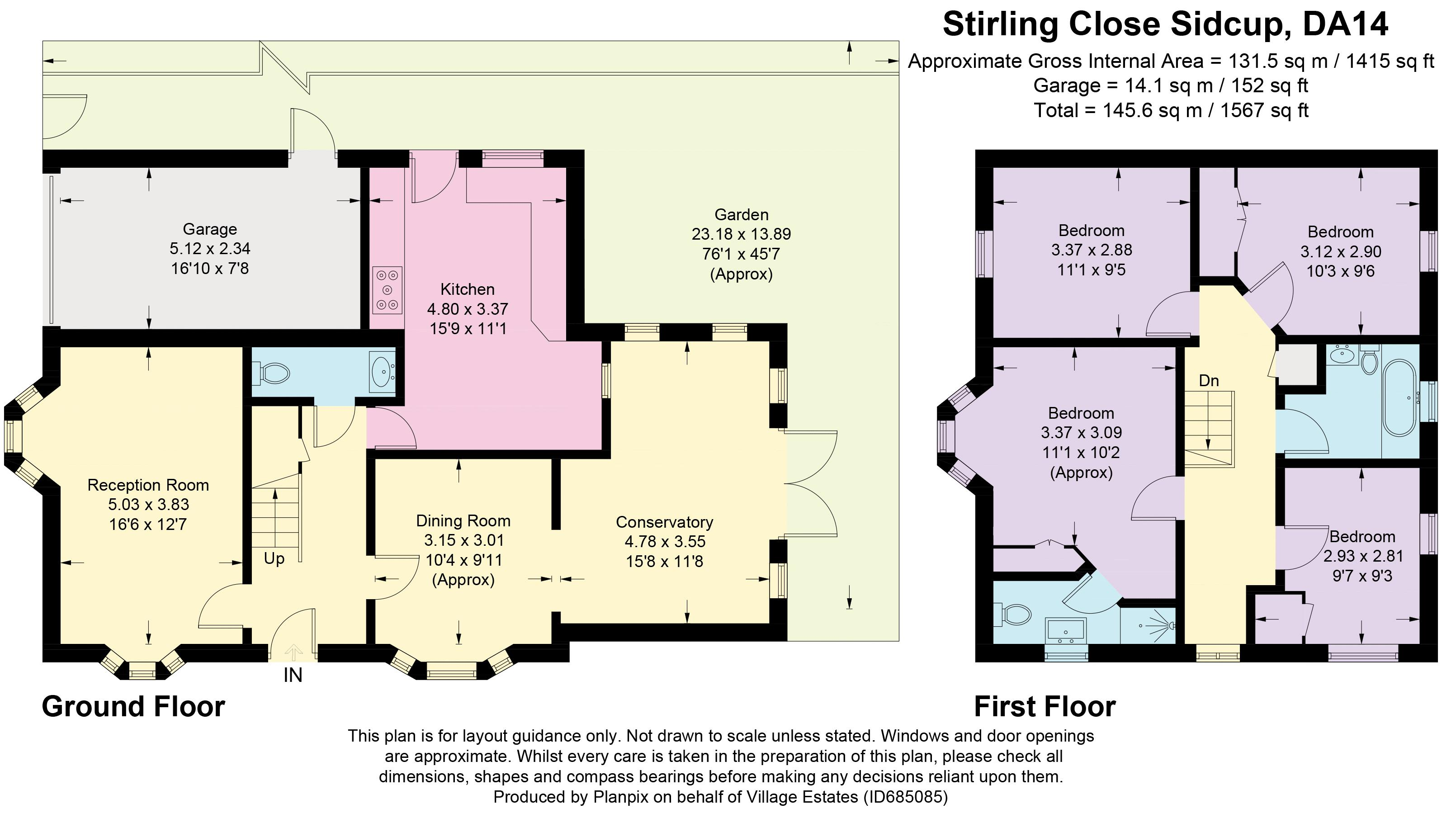 Stirling Close Floorplan