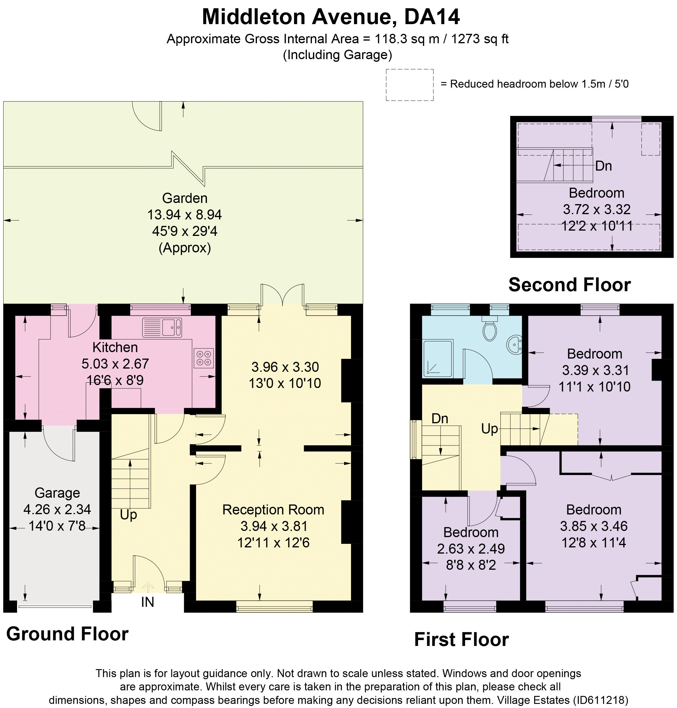 MIDDLETON AVENUE FLOORPLAN