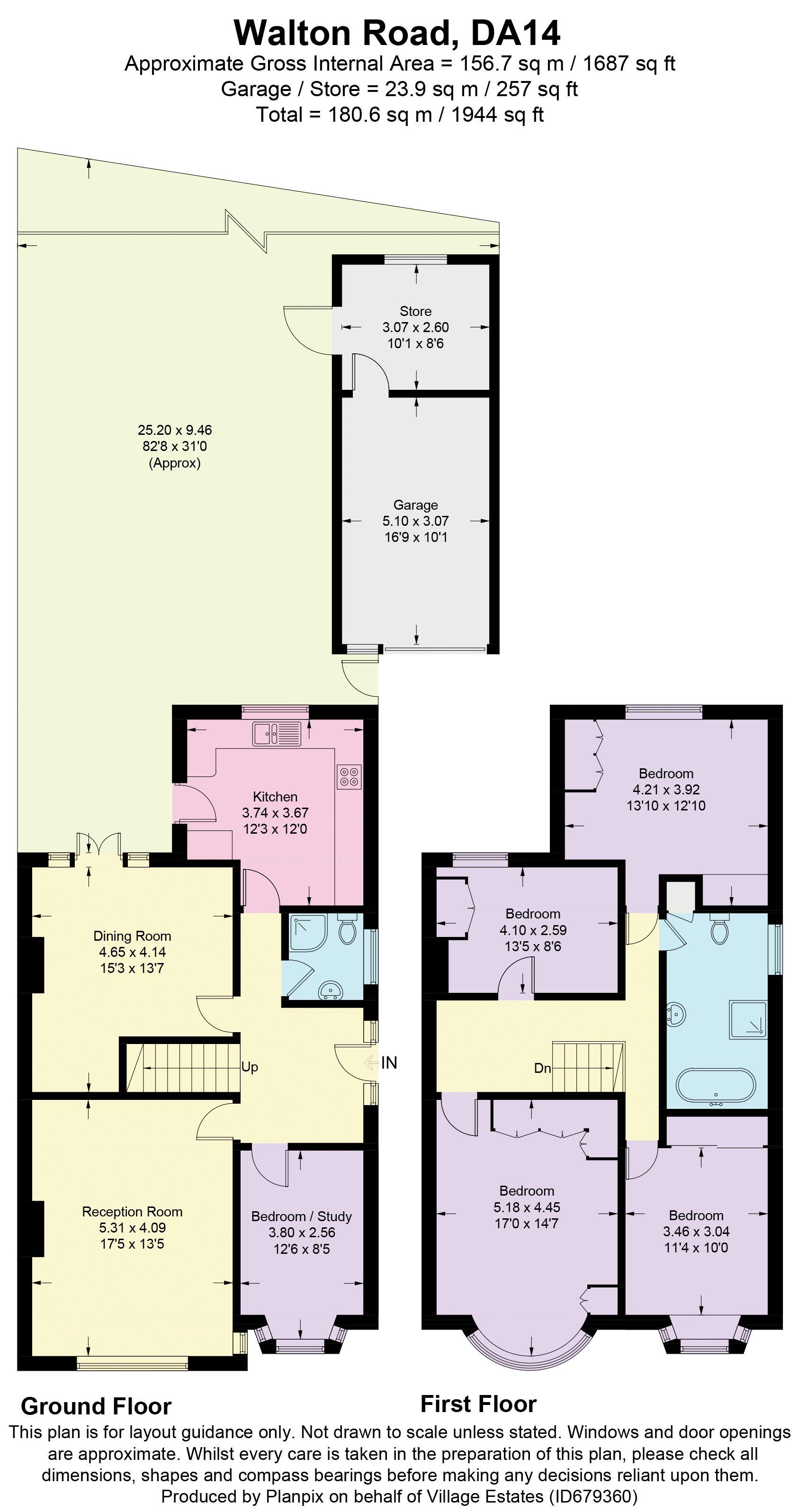Walton Road Floorplan