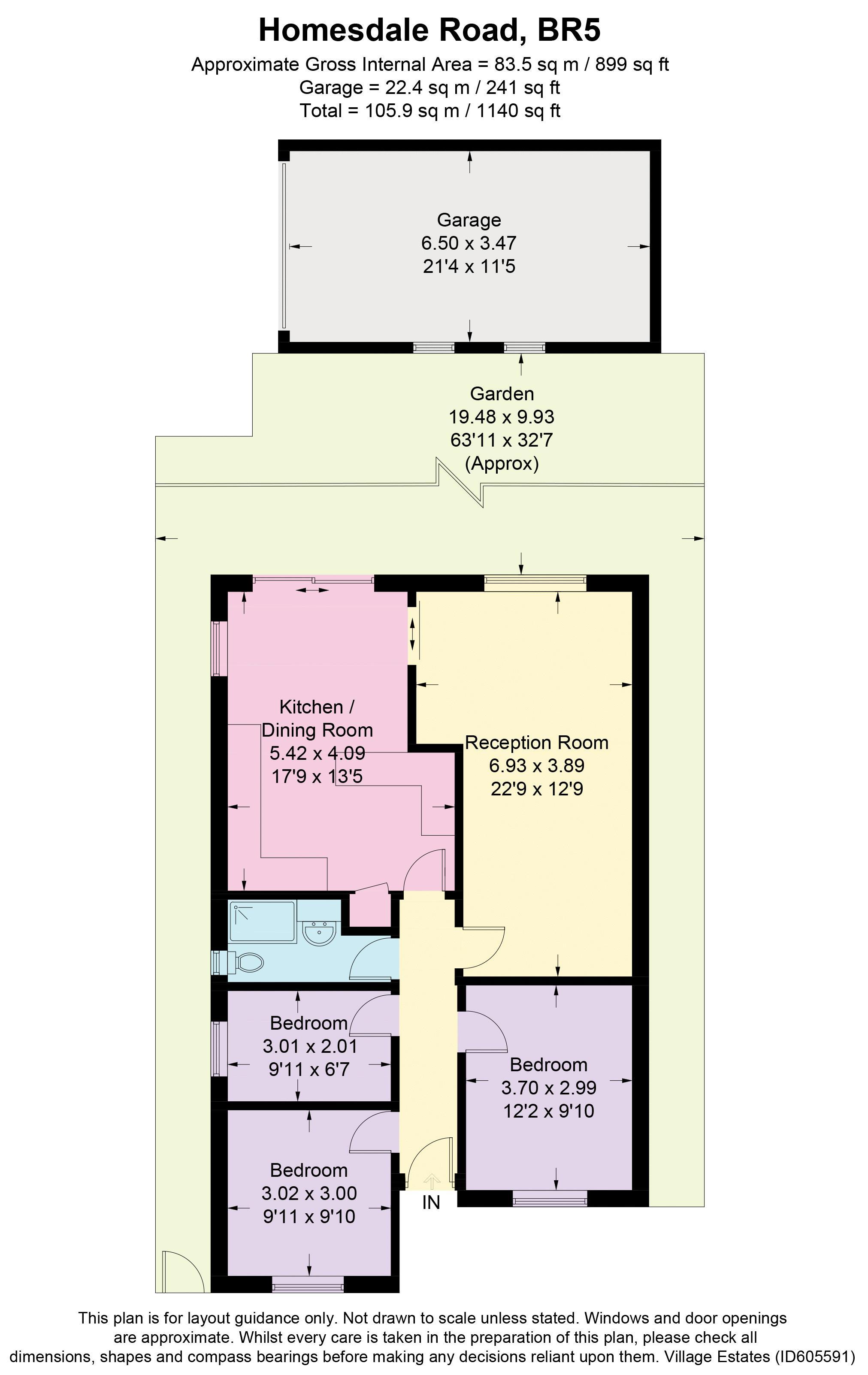 Homesdale Road Floorplan