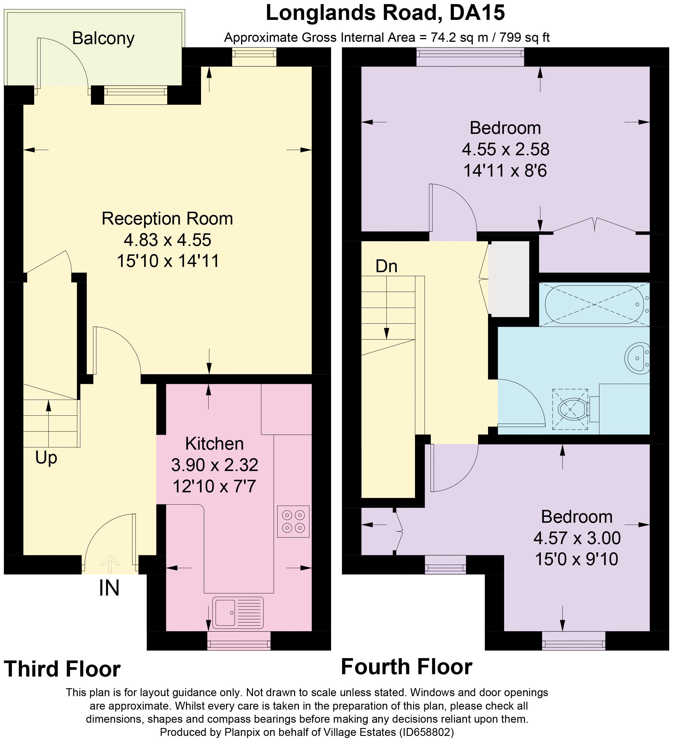 Medlar House Floorplan