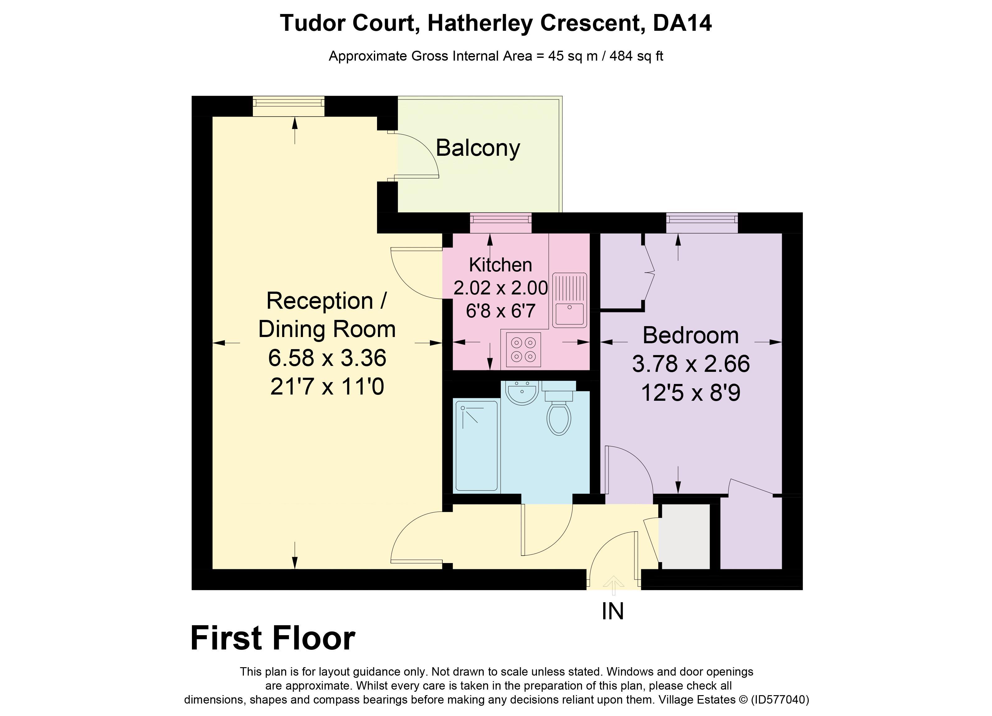 Tudor Court Floorplan