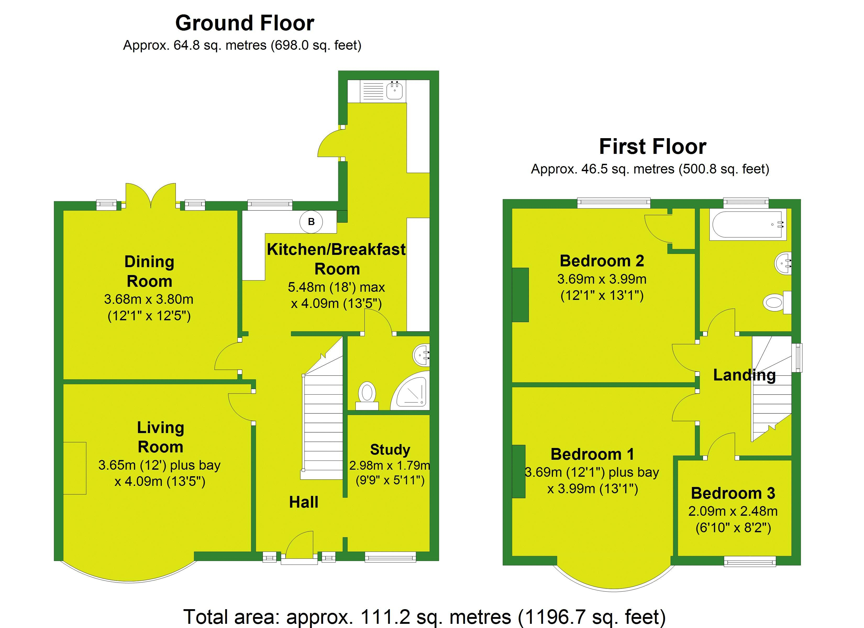 Westwood Lane Floorplan