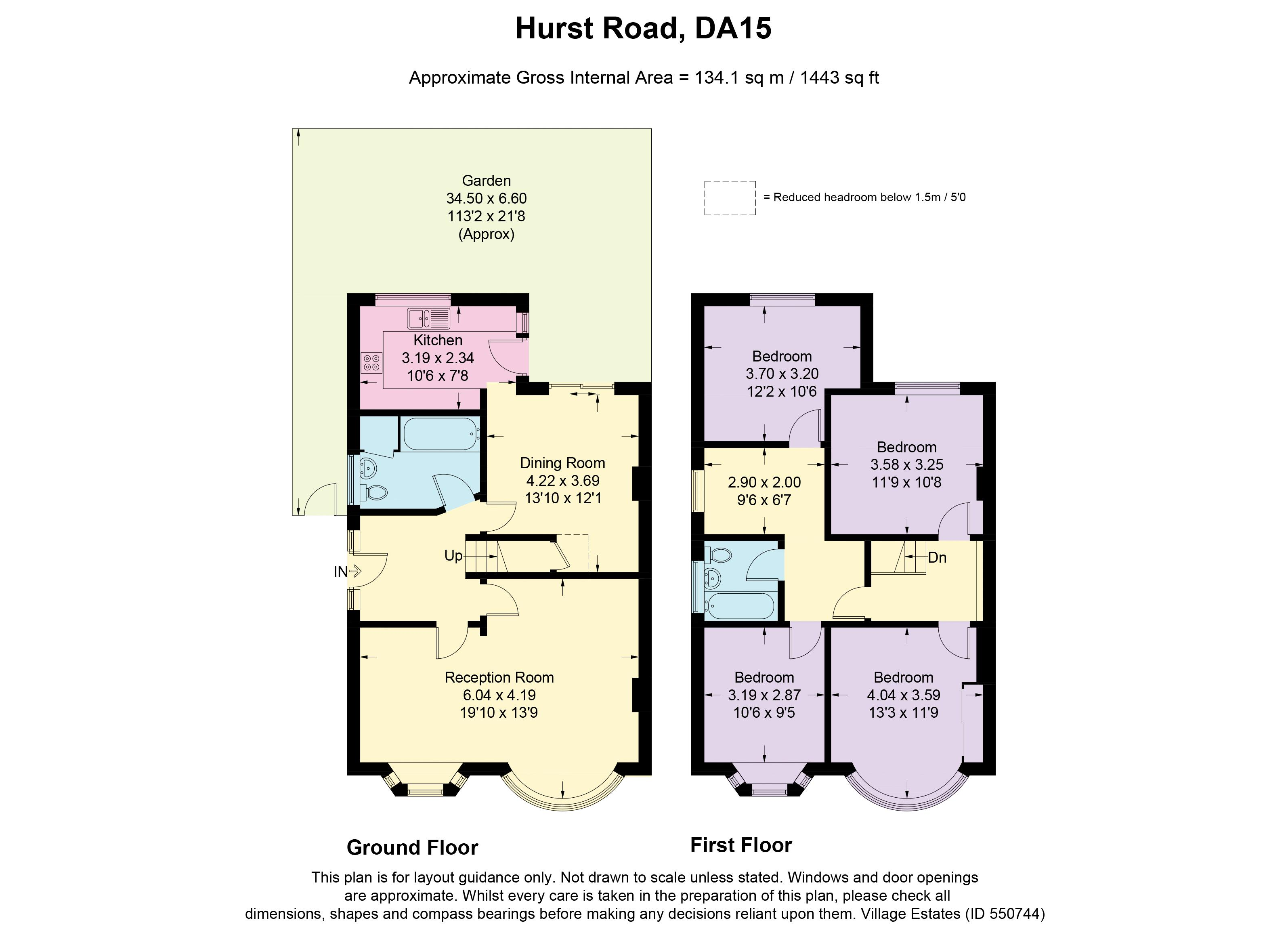 Hurst Road Floorplan