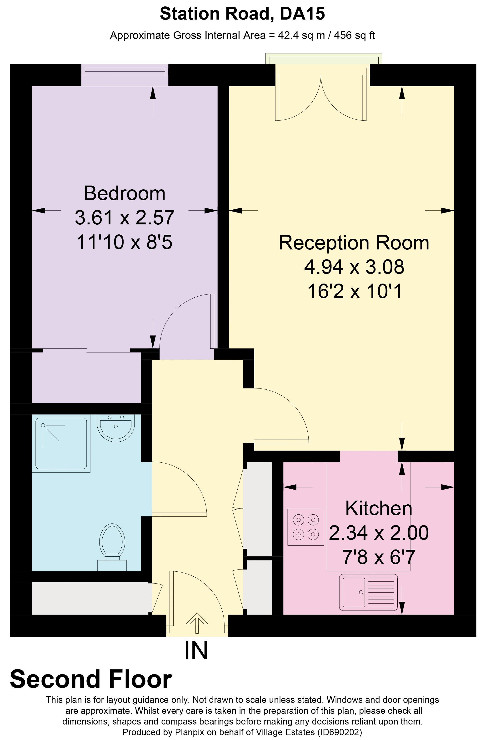 Glen Court Floorplan