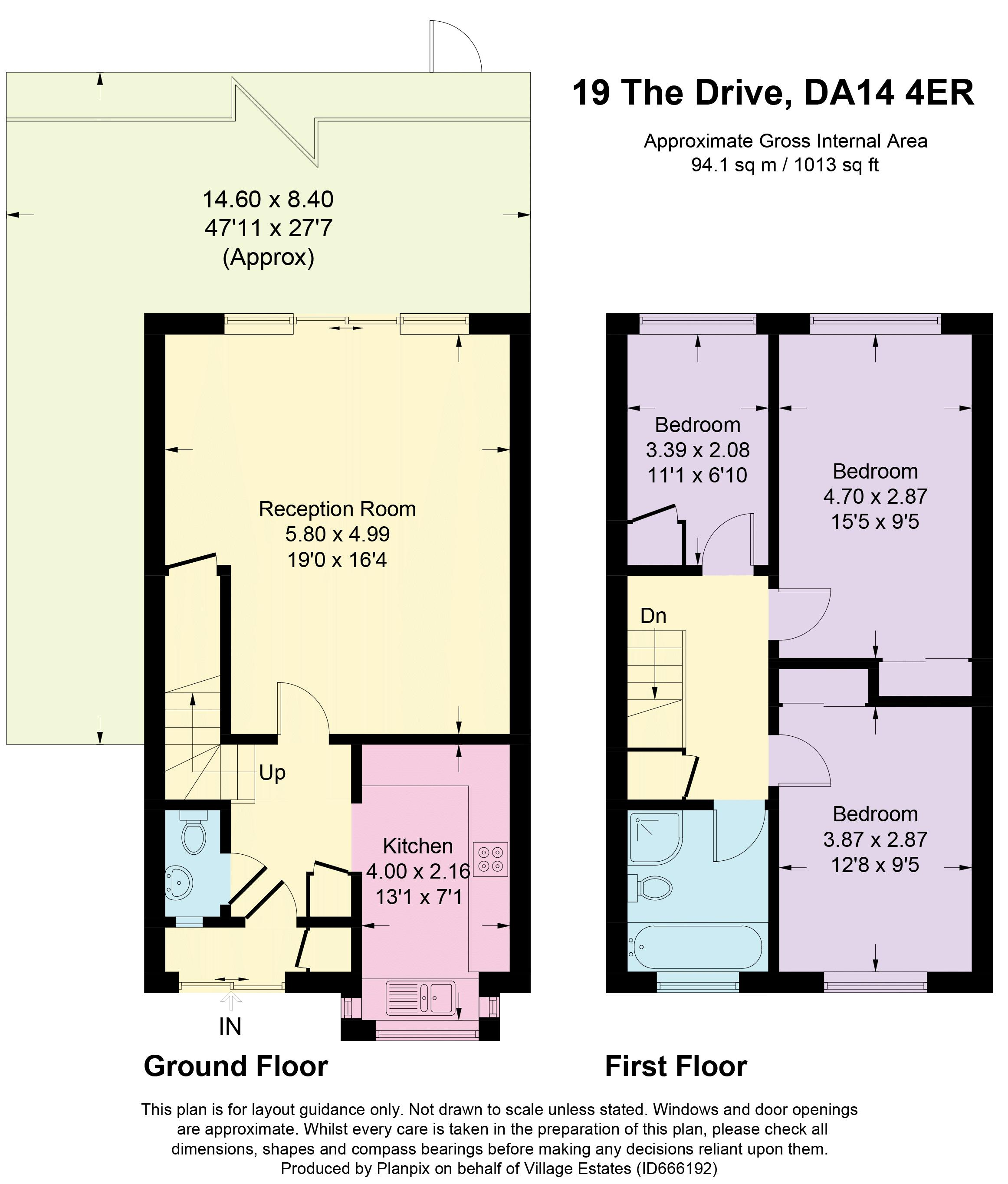 The Drive Floorplan