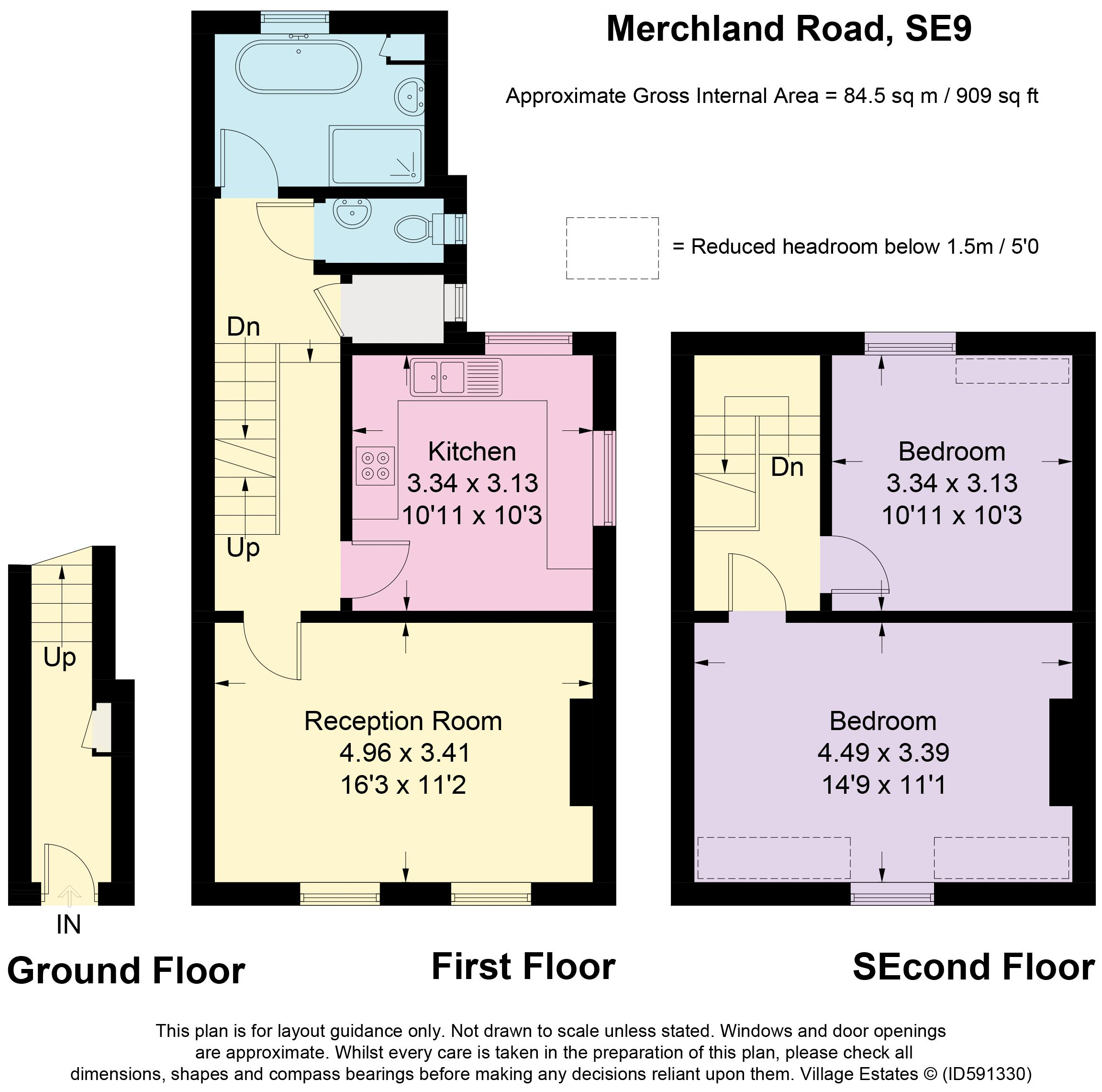 Merchland Road Floorplan