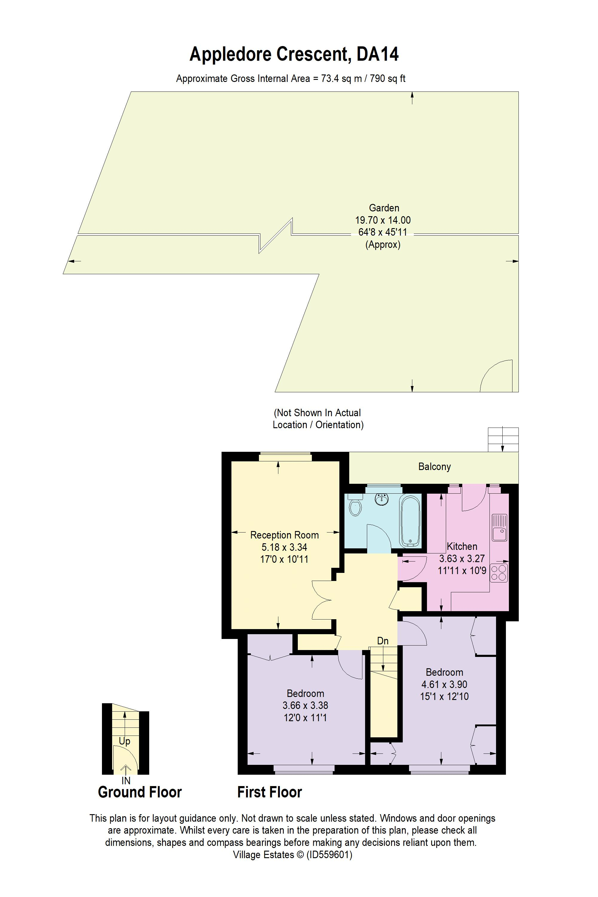 Appledore Crescent Floorplan