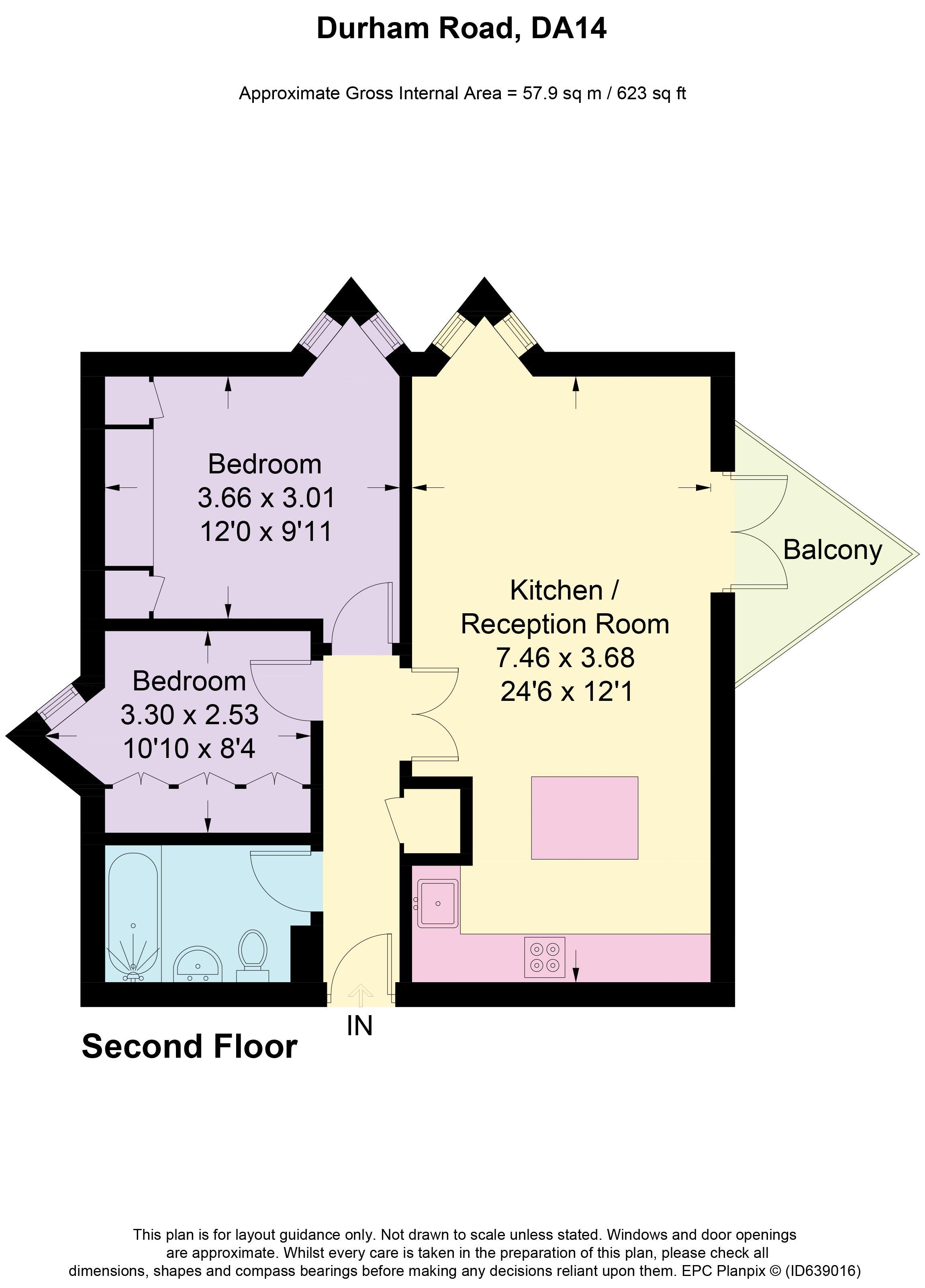 Maple Court Floorplan