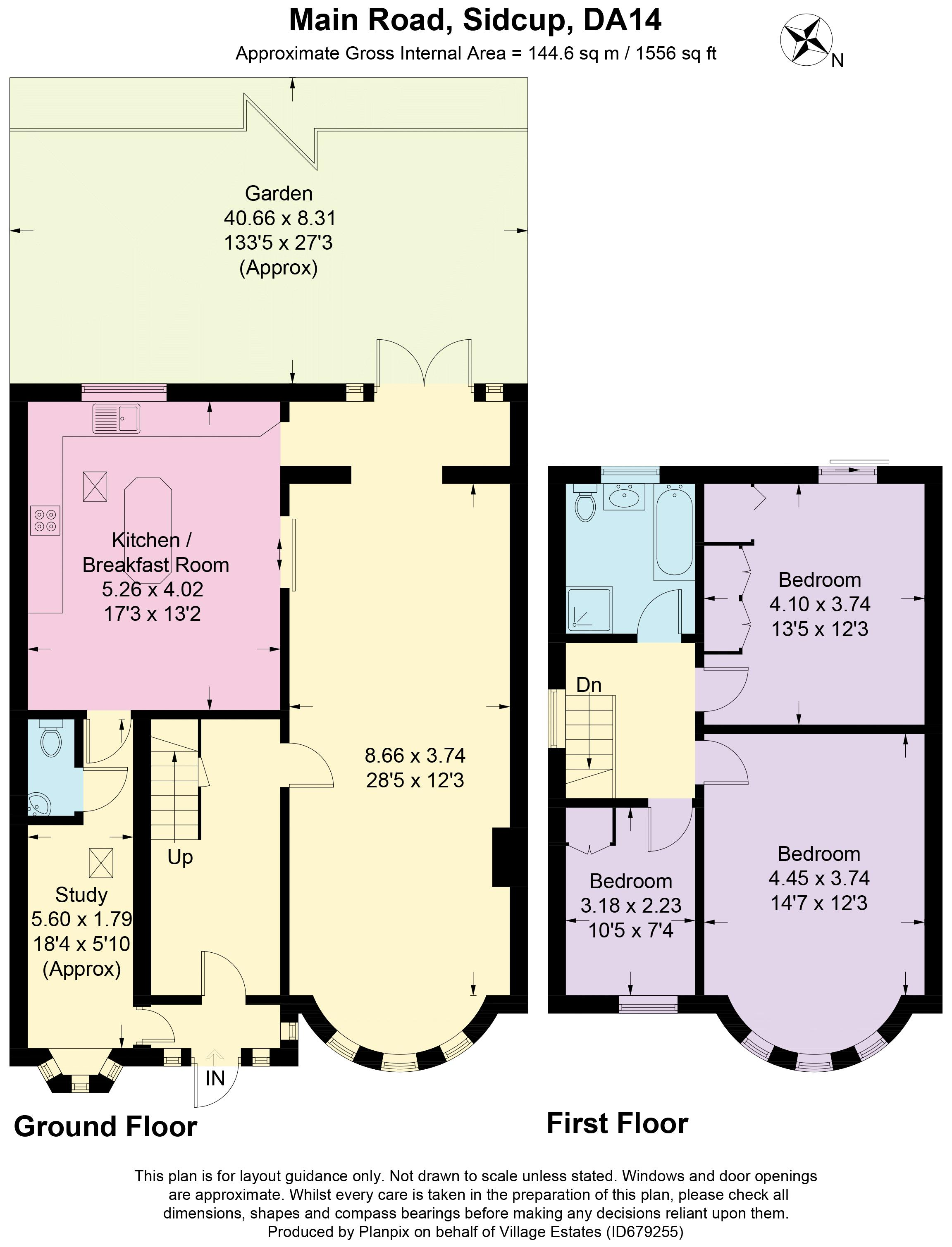Main Road Floorplan