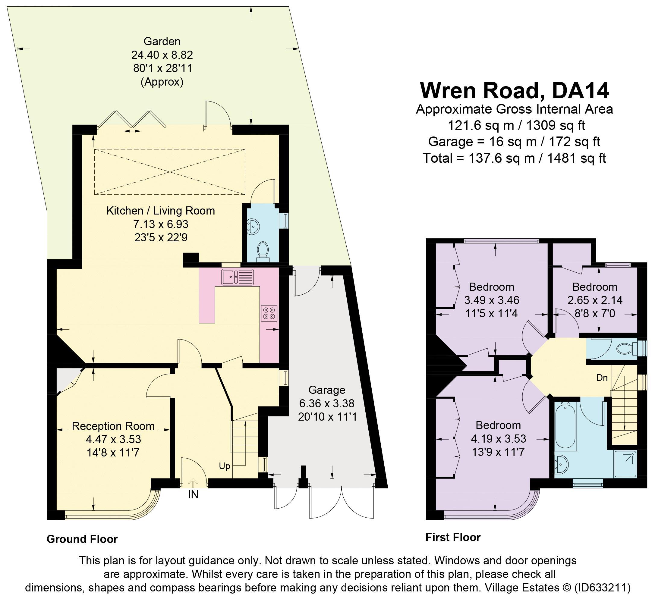 Wren Road Floorplan