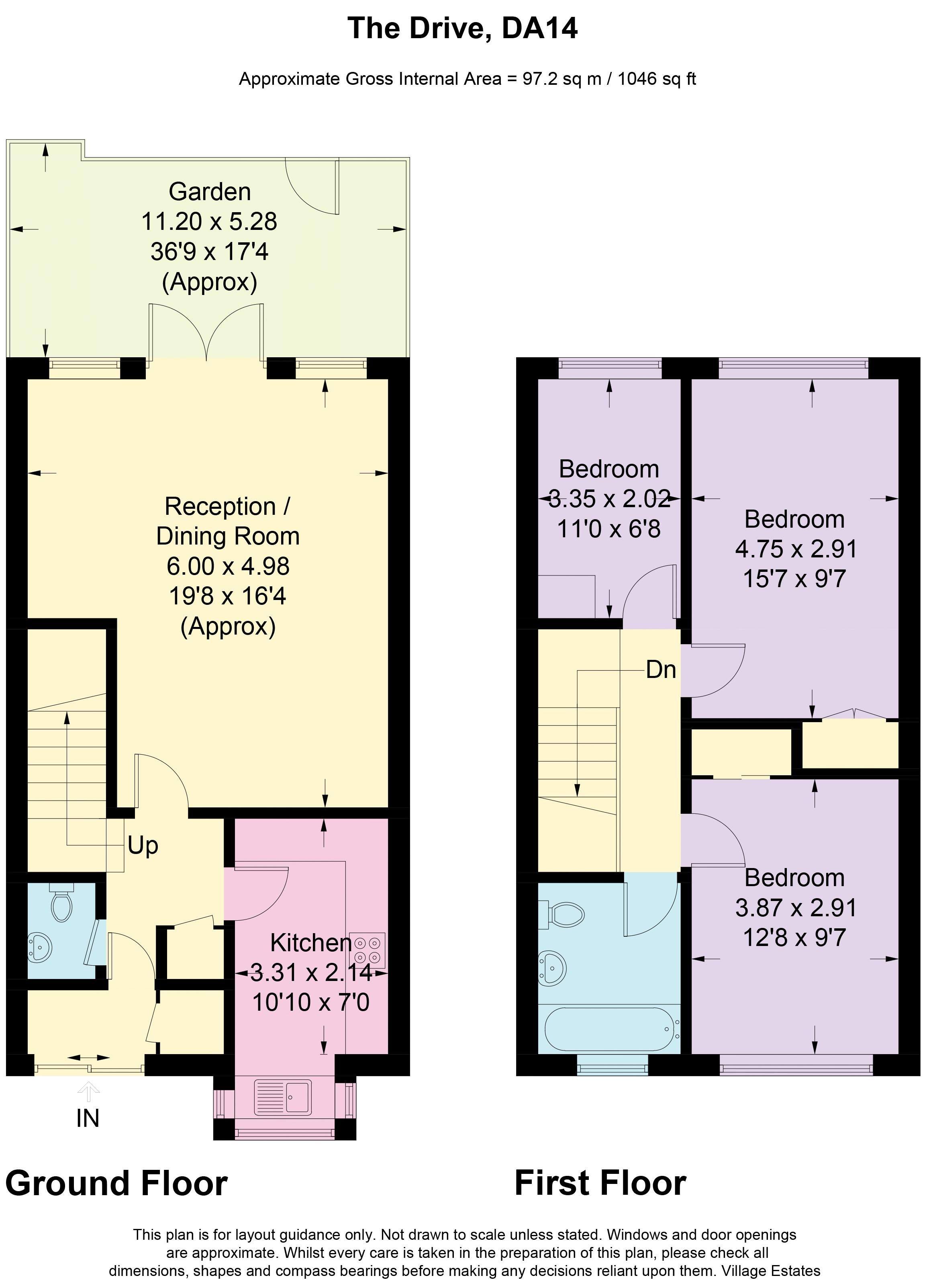 The Drive Floorplan