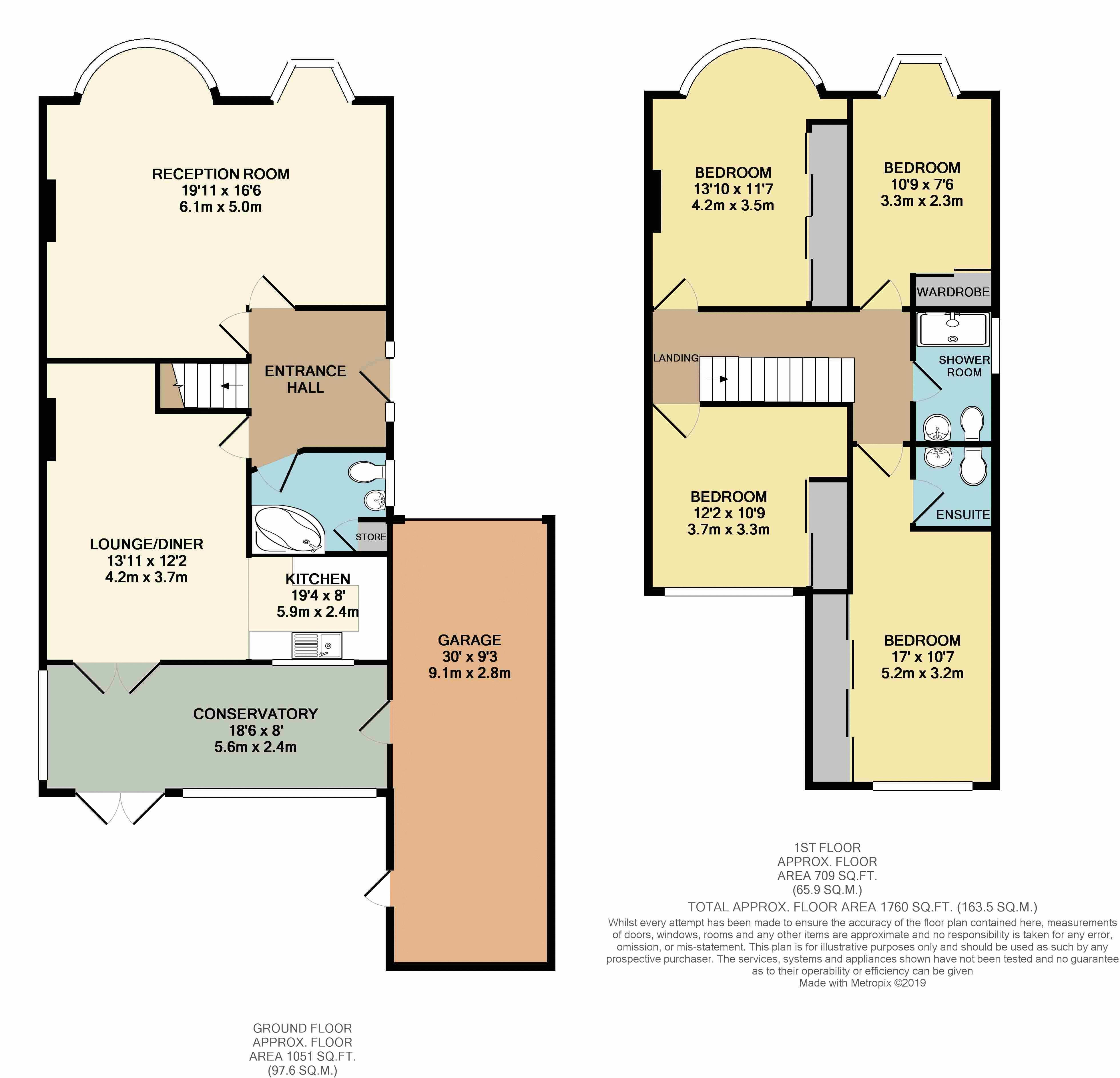 Willersley Floorplan