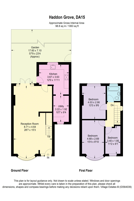 Haddon Grove Floorplan