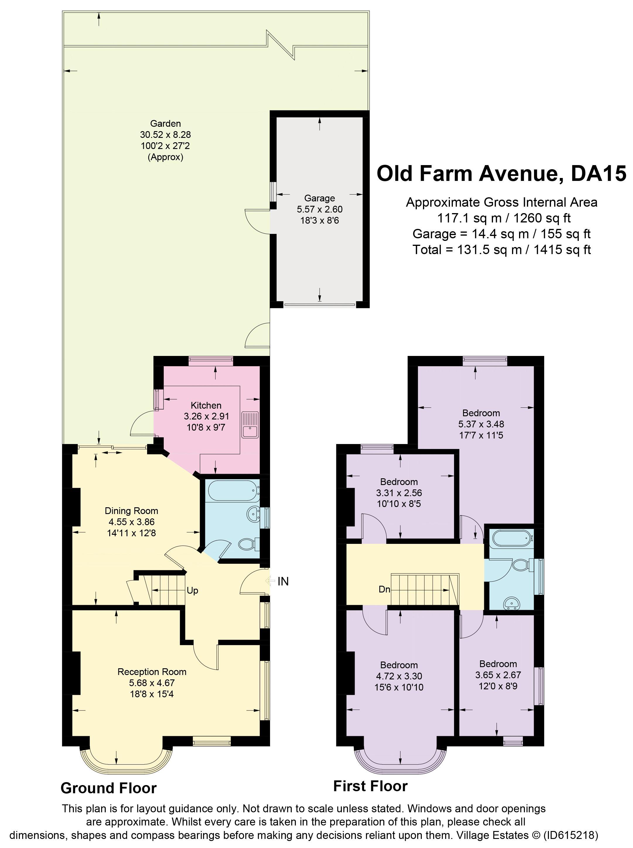 Old Farm Avenue Floorplan