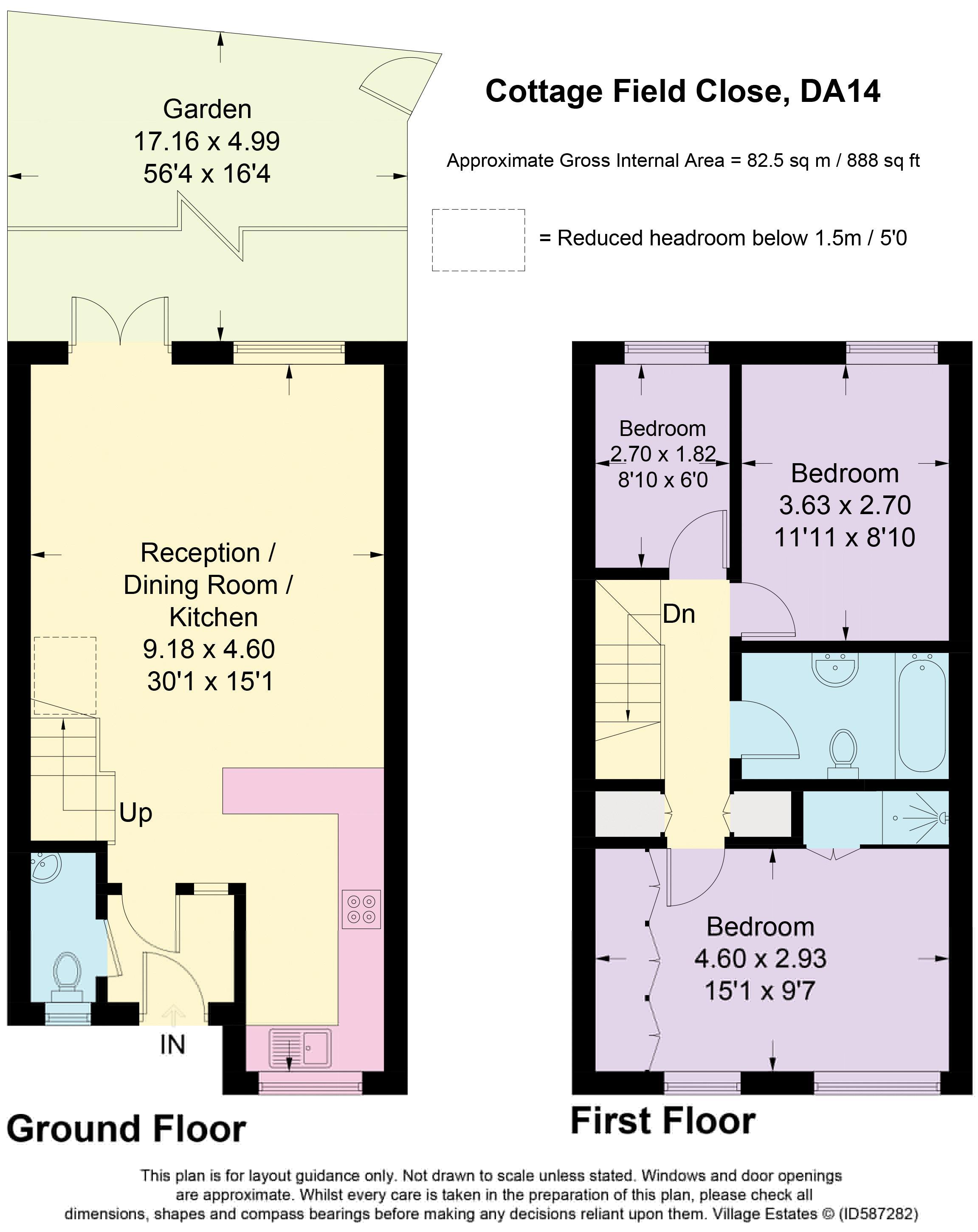 Cottage Field Close Floorplan