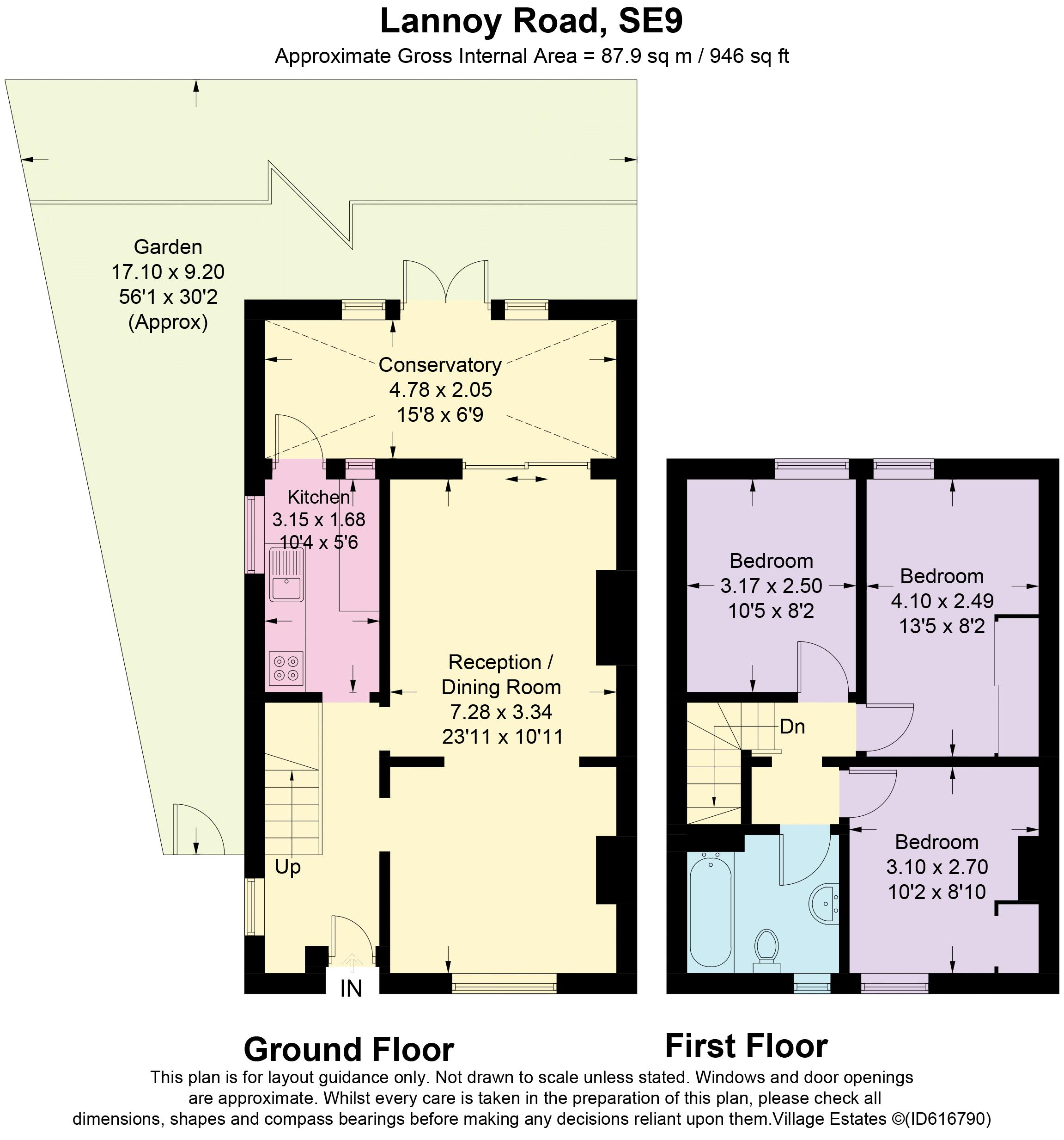 Lannoy Road Floorplan