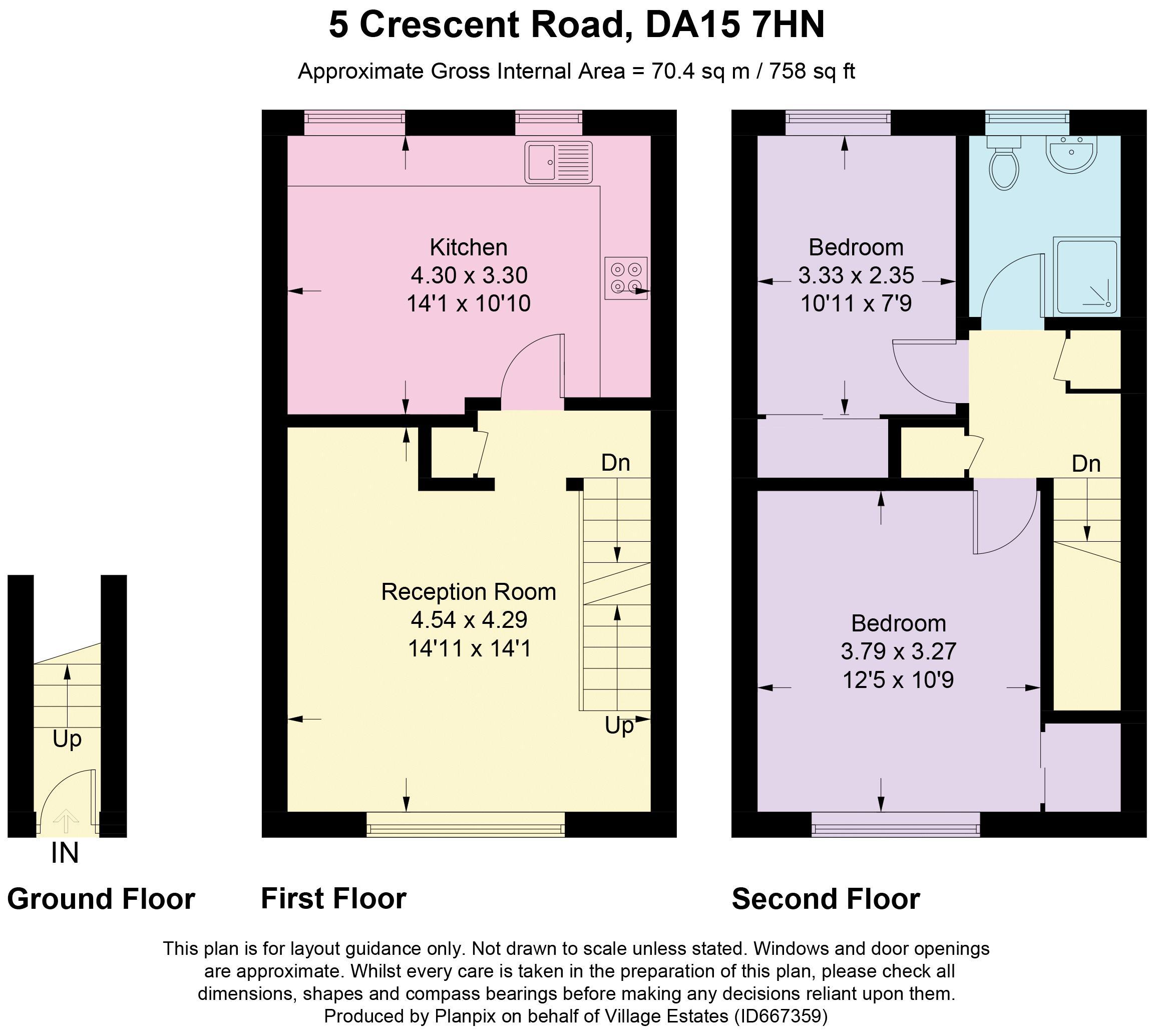 Crescent Road Floorplan