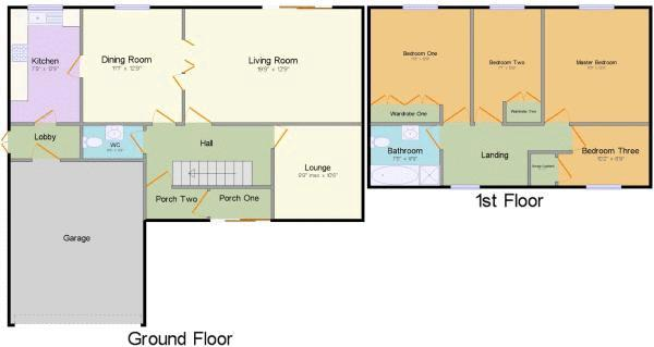Cob Lane floor plan