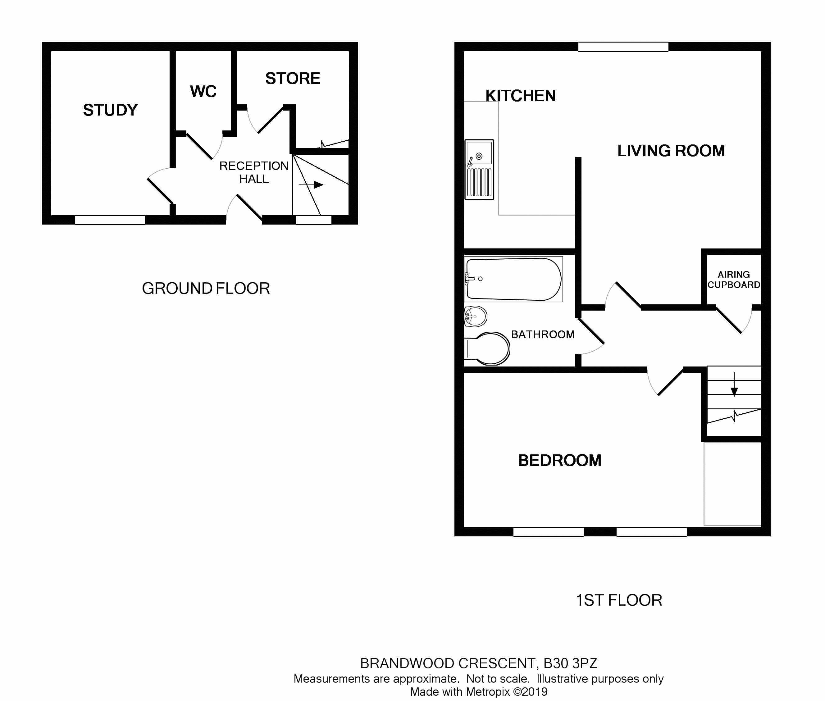 Amber Court Floor plan